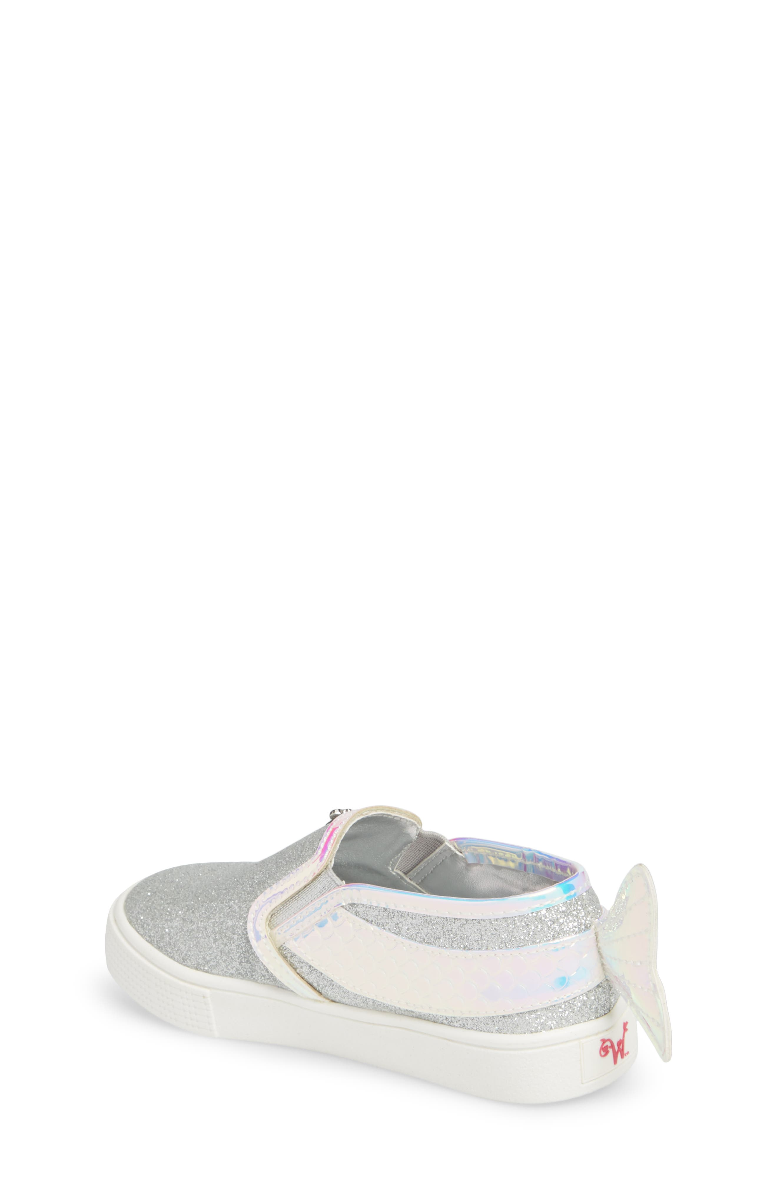 Camille Mermaid Glitter Sneaker,                             Alternate thumbnail 2, color,                             040