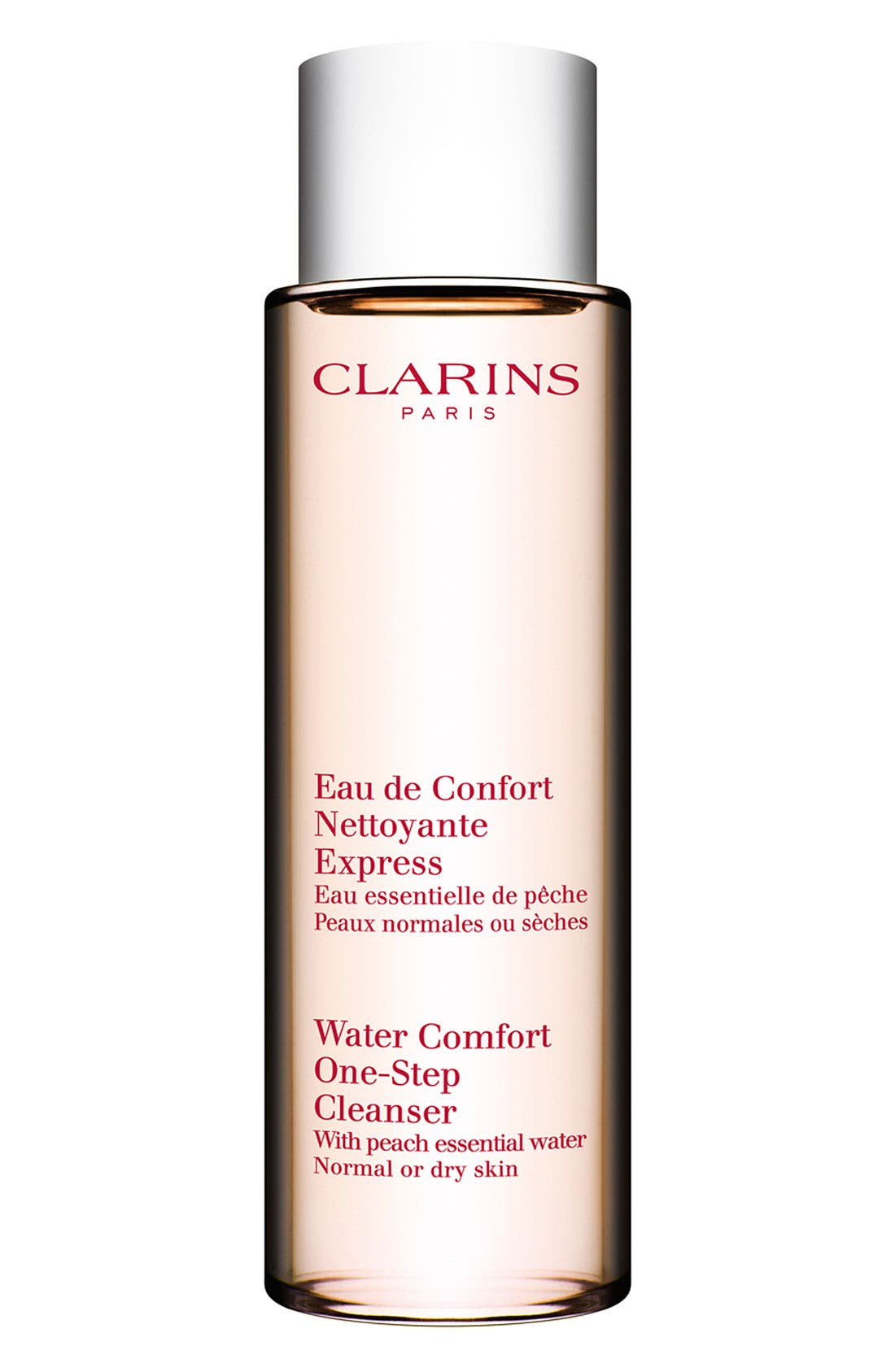 Water Comfort One-Step Cleanser with Peach Essential Water,                             Main thumbnail 1, color,