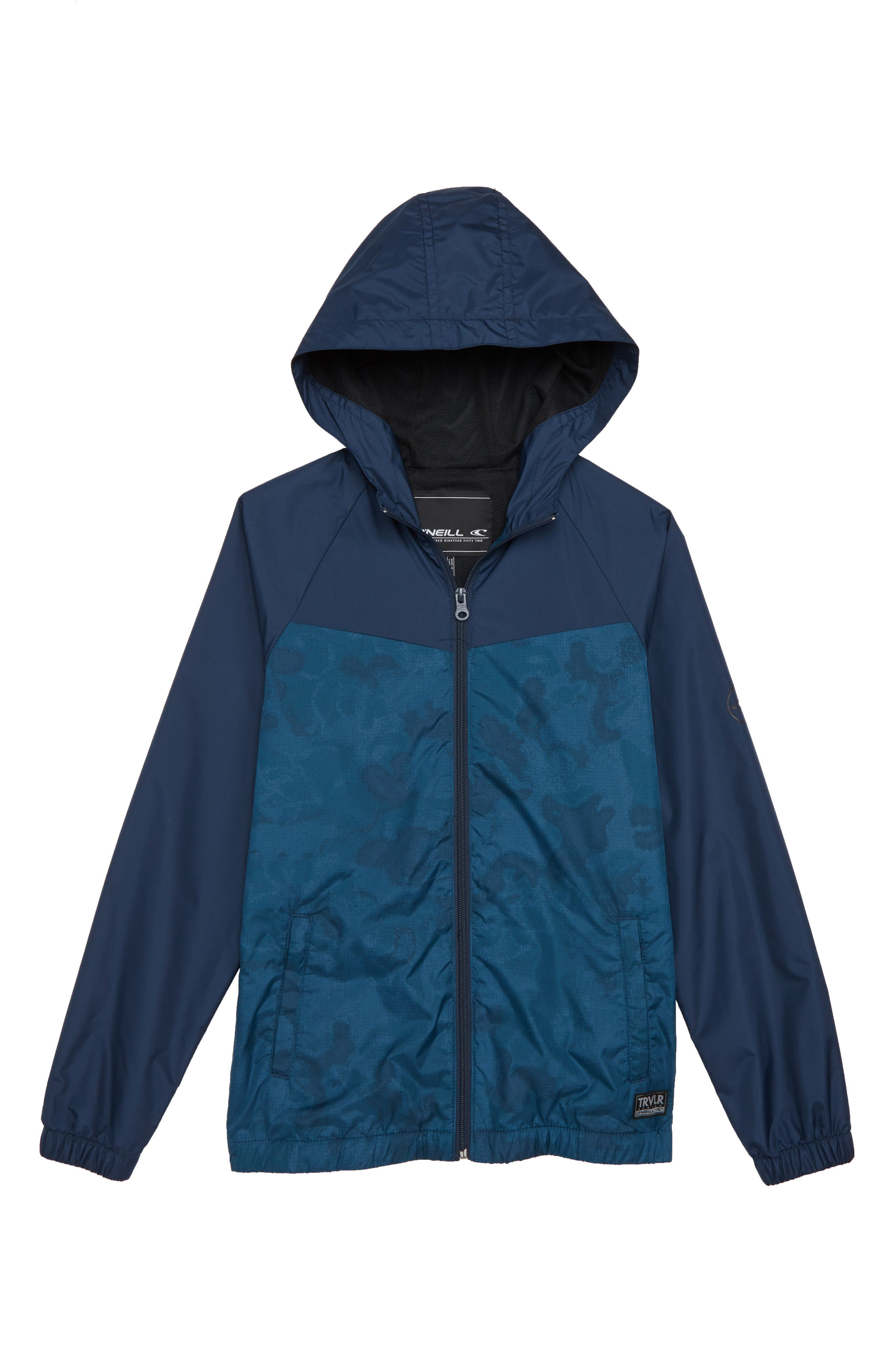 Traveler Packable Windbreaker Jacket,                         Main,                         color,