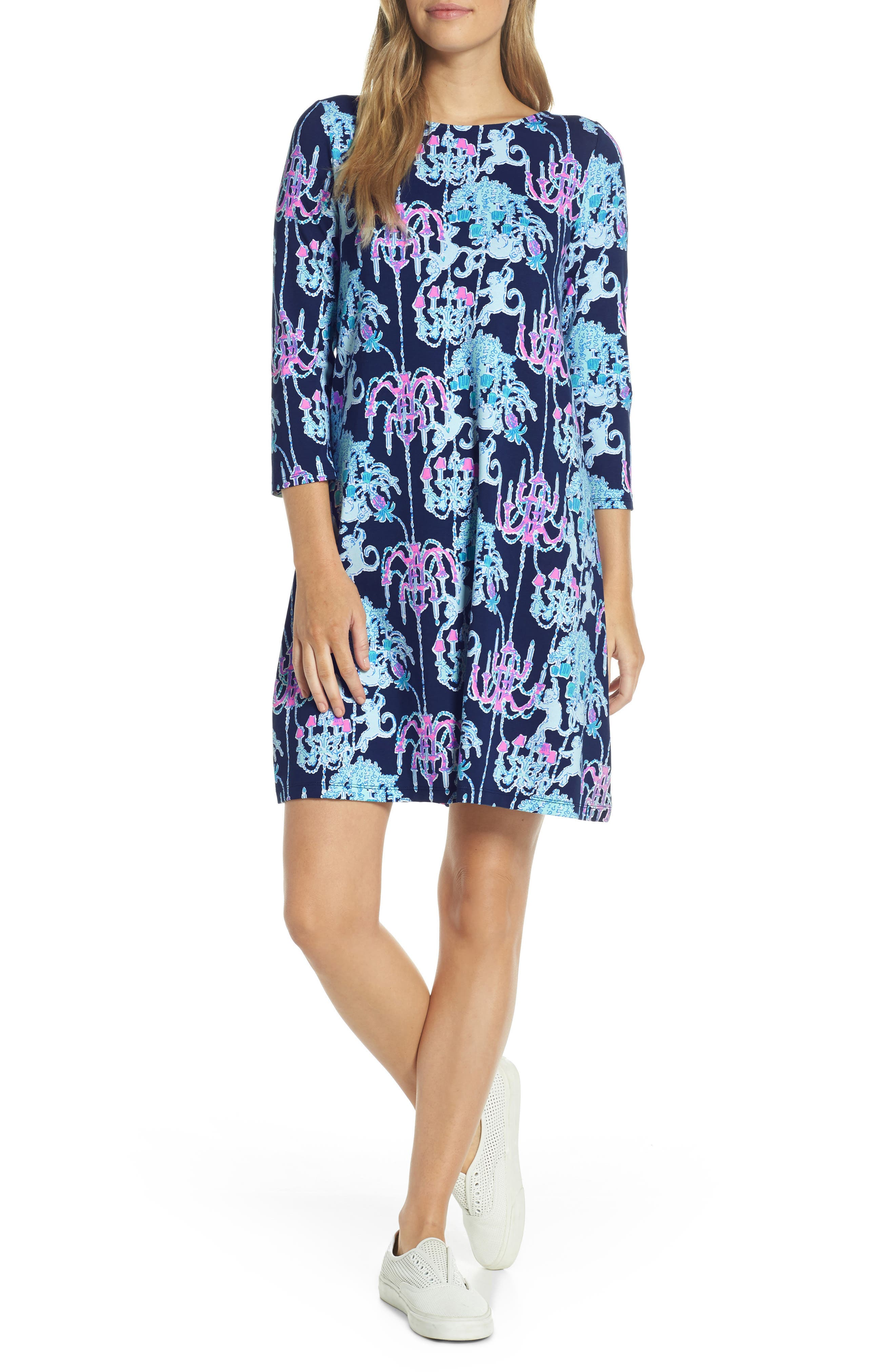 Lilly Pulitzer Ophelia Swing Dress, Blue