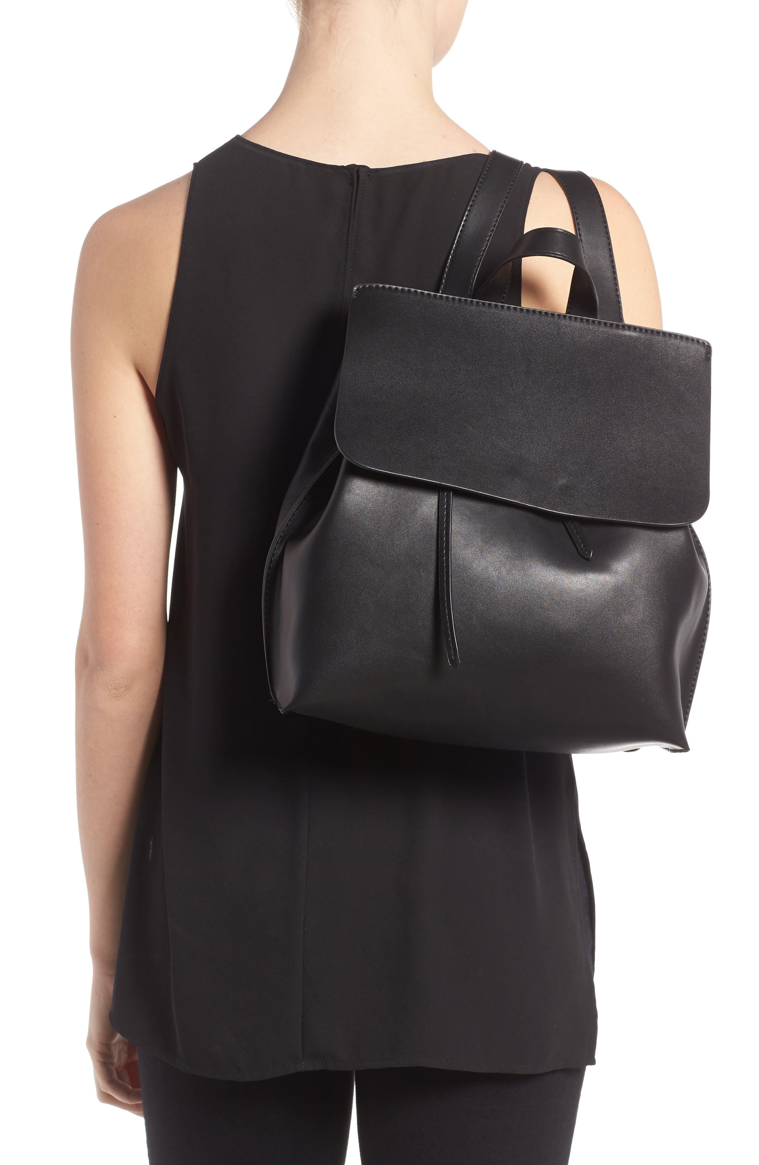 Selena Faux Leather Backpack,                             Alternate thumbnail 10, color,