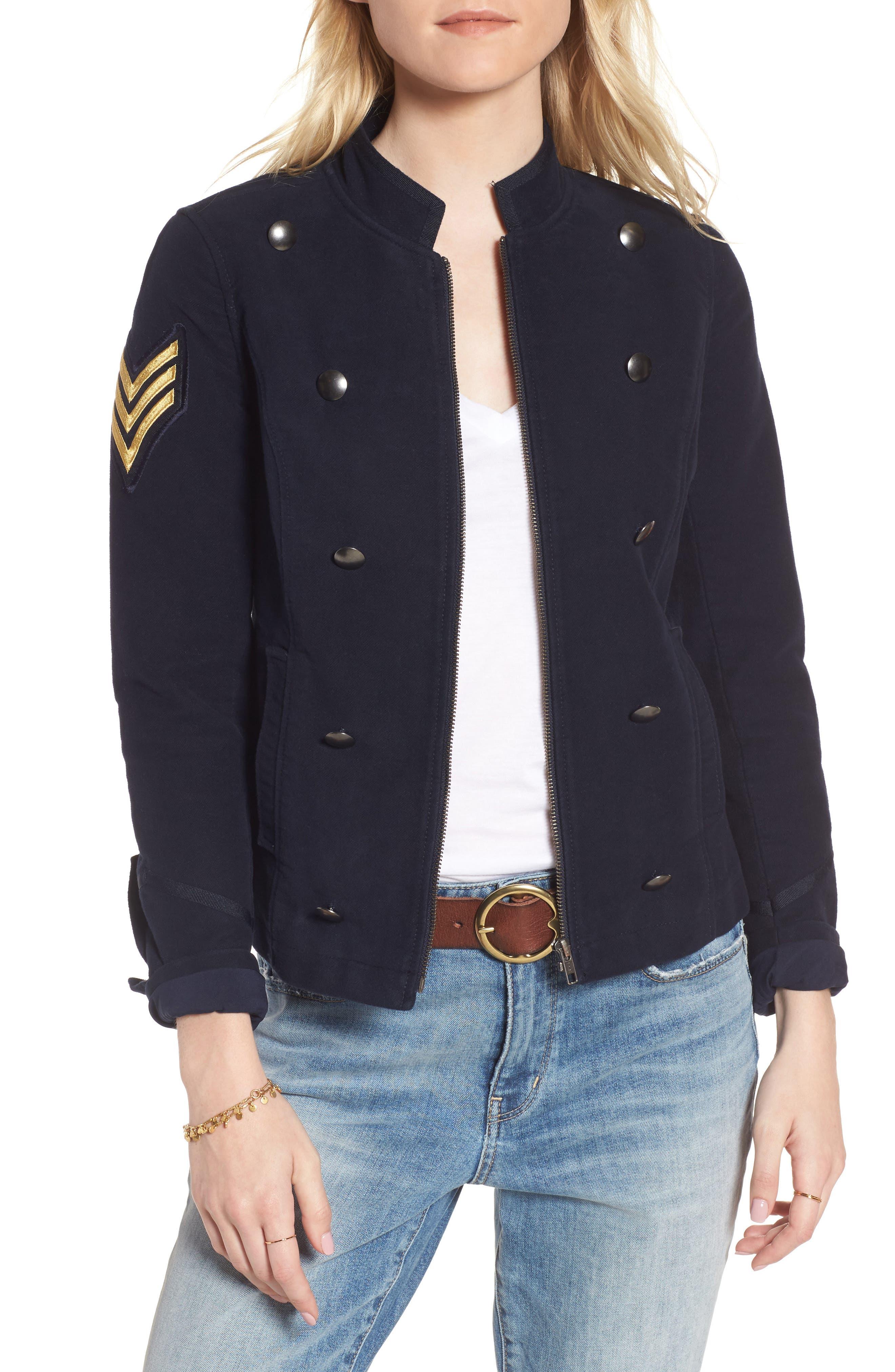 Officers Jacket,                             Main thumbnail 1, color,                             400