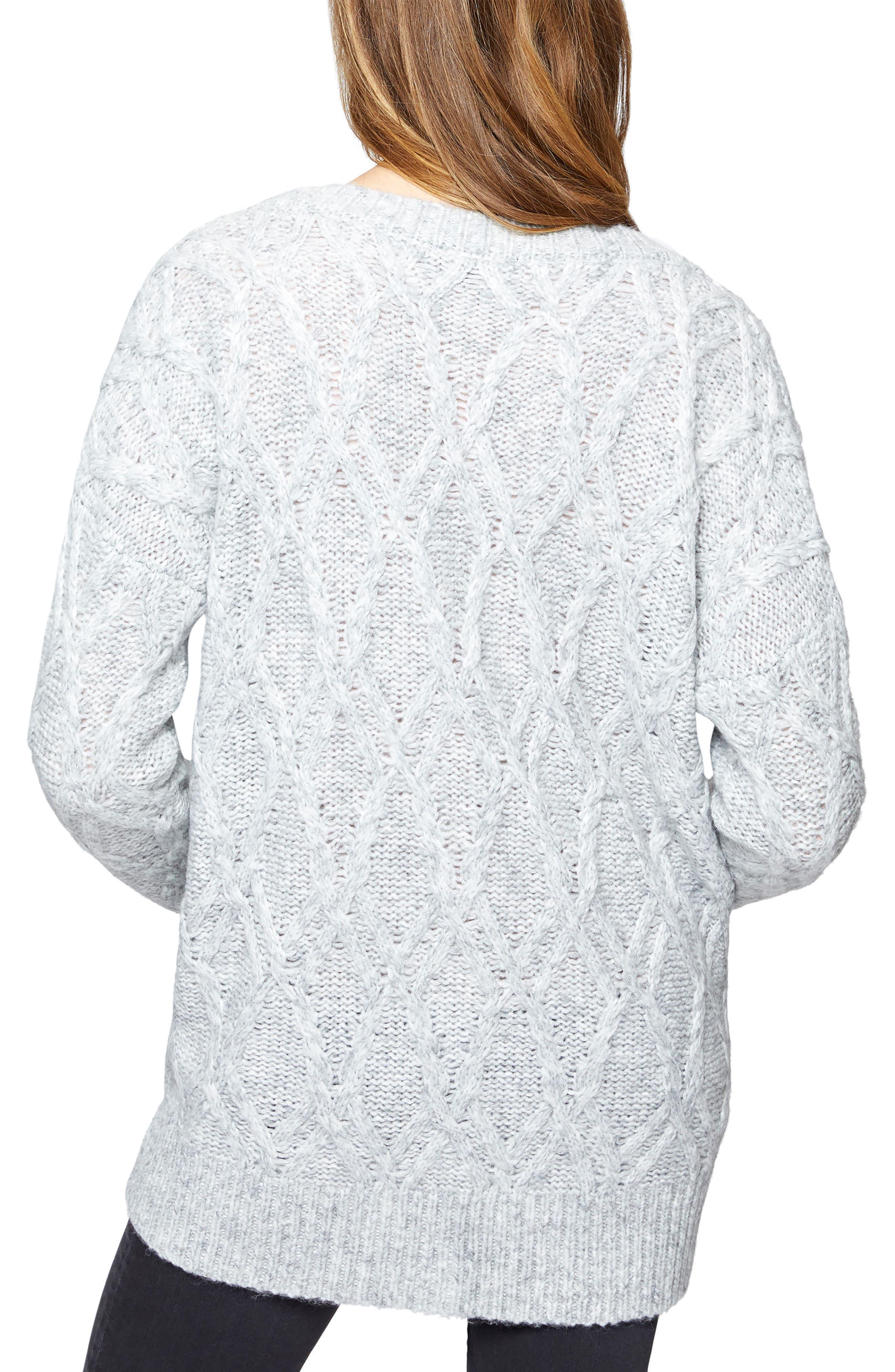Urban Knit Cardigan,                             Alternate thumbnail 2, color,                             050