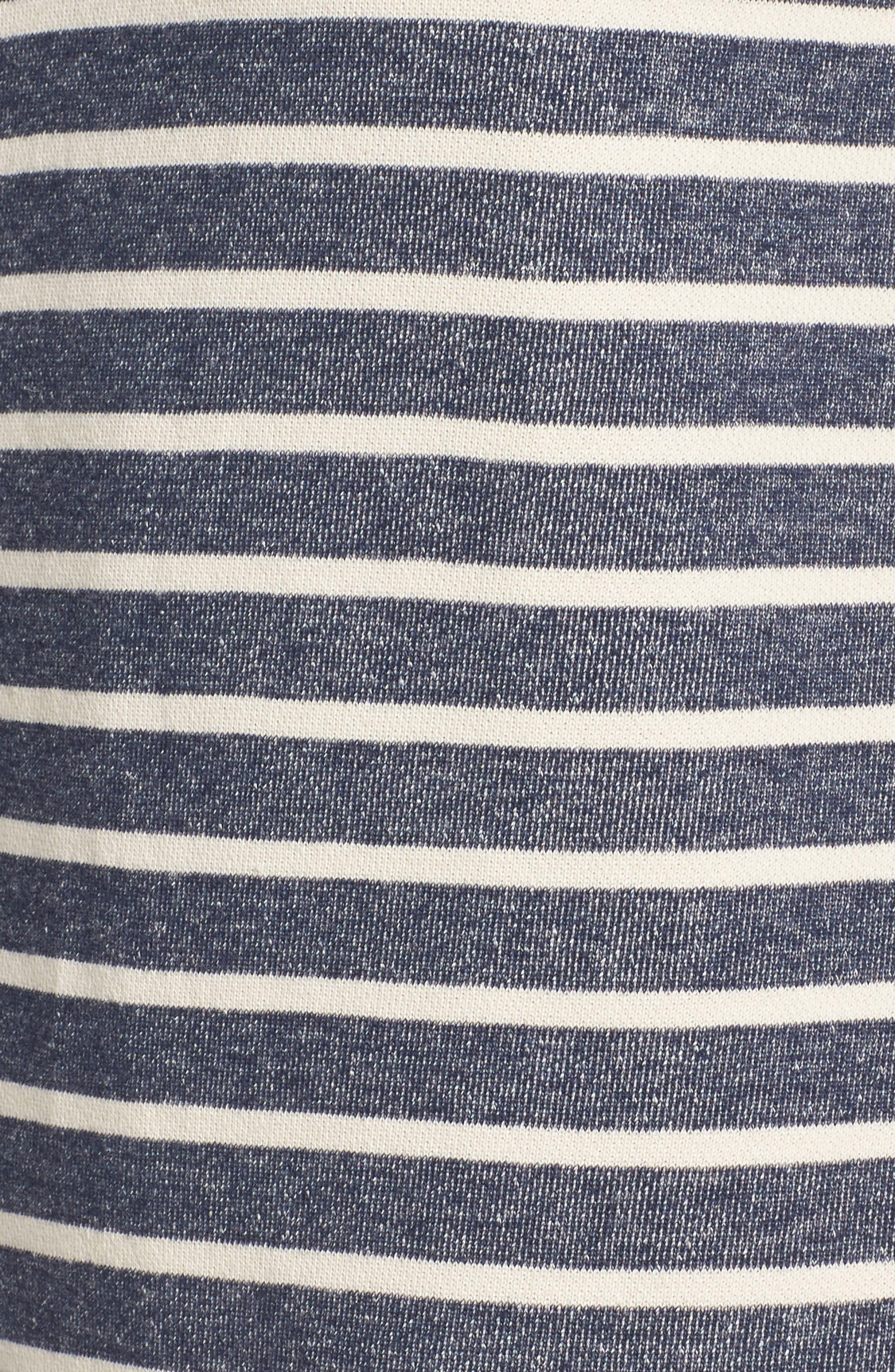 Normandy Stripe Dress,                             Alternate thumbnail 9, color,