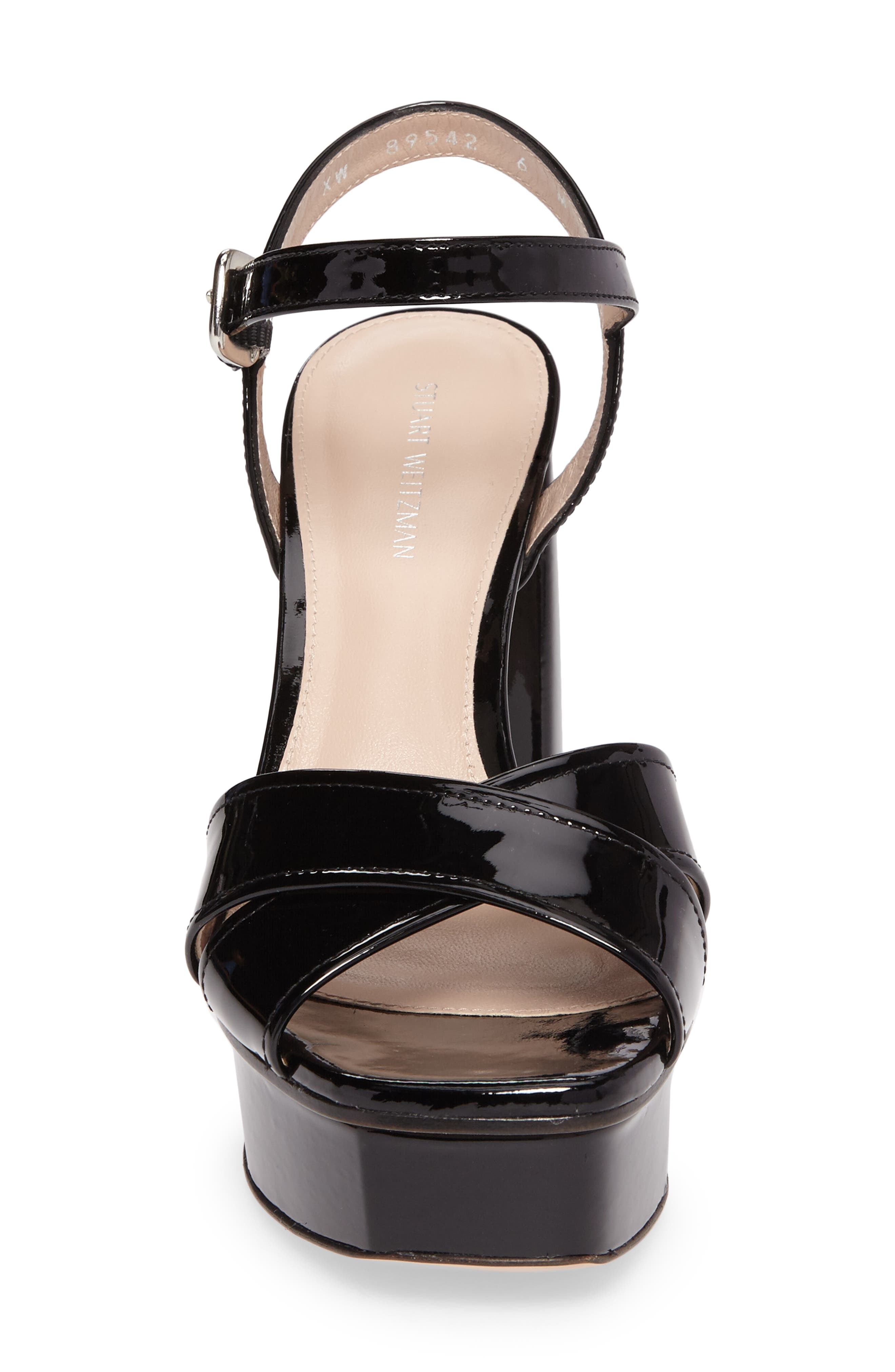 Exposed Platform Sandal,                             Alternate thumbnail 16, color,