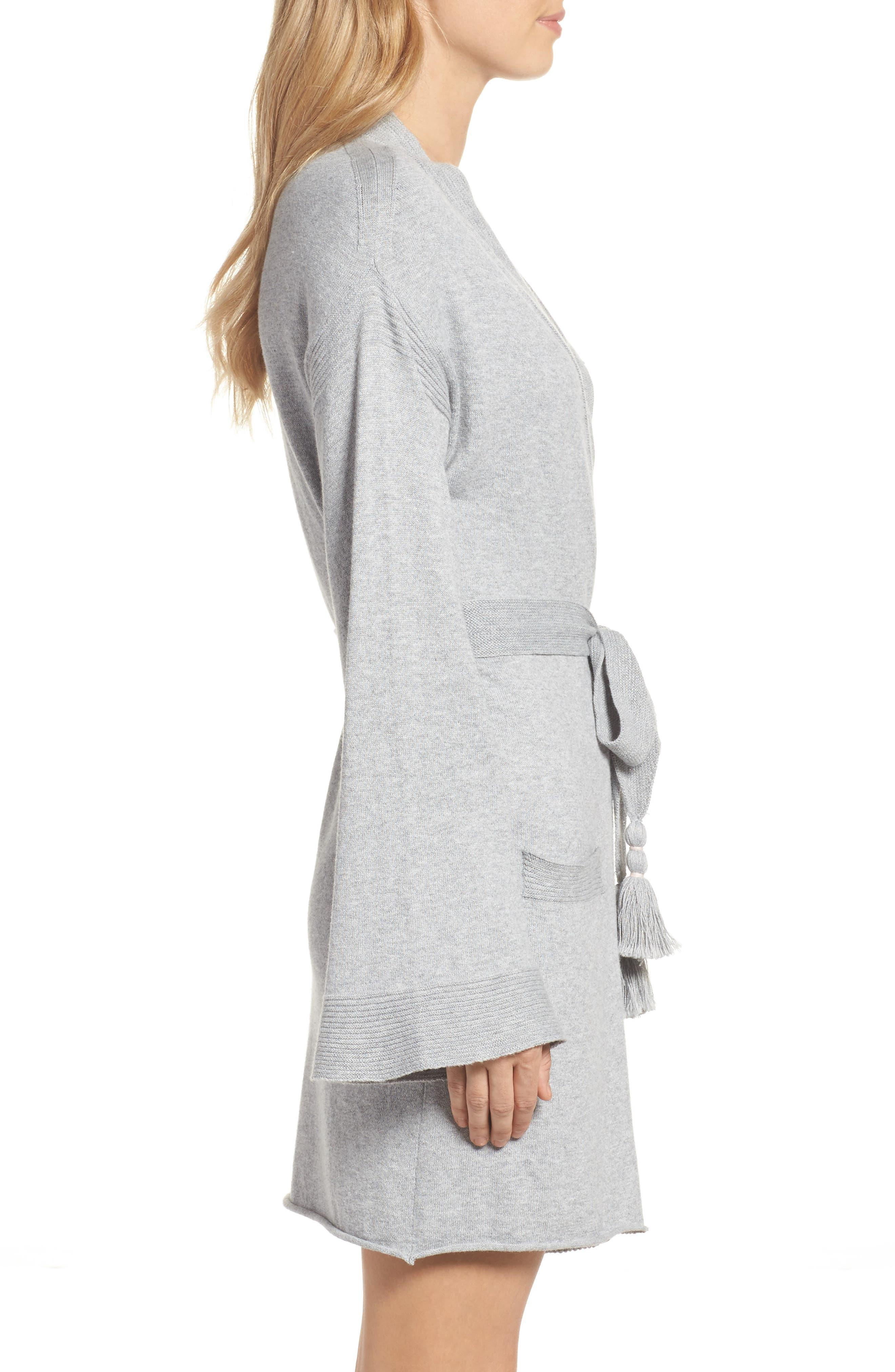 Valoria Short Robe,                             Alternate thumbnail 3, color,                             020