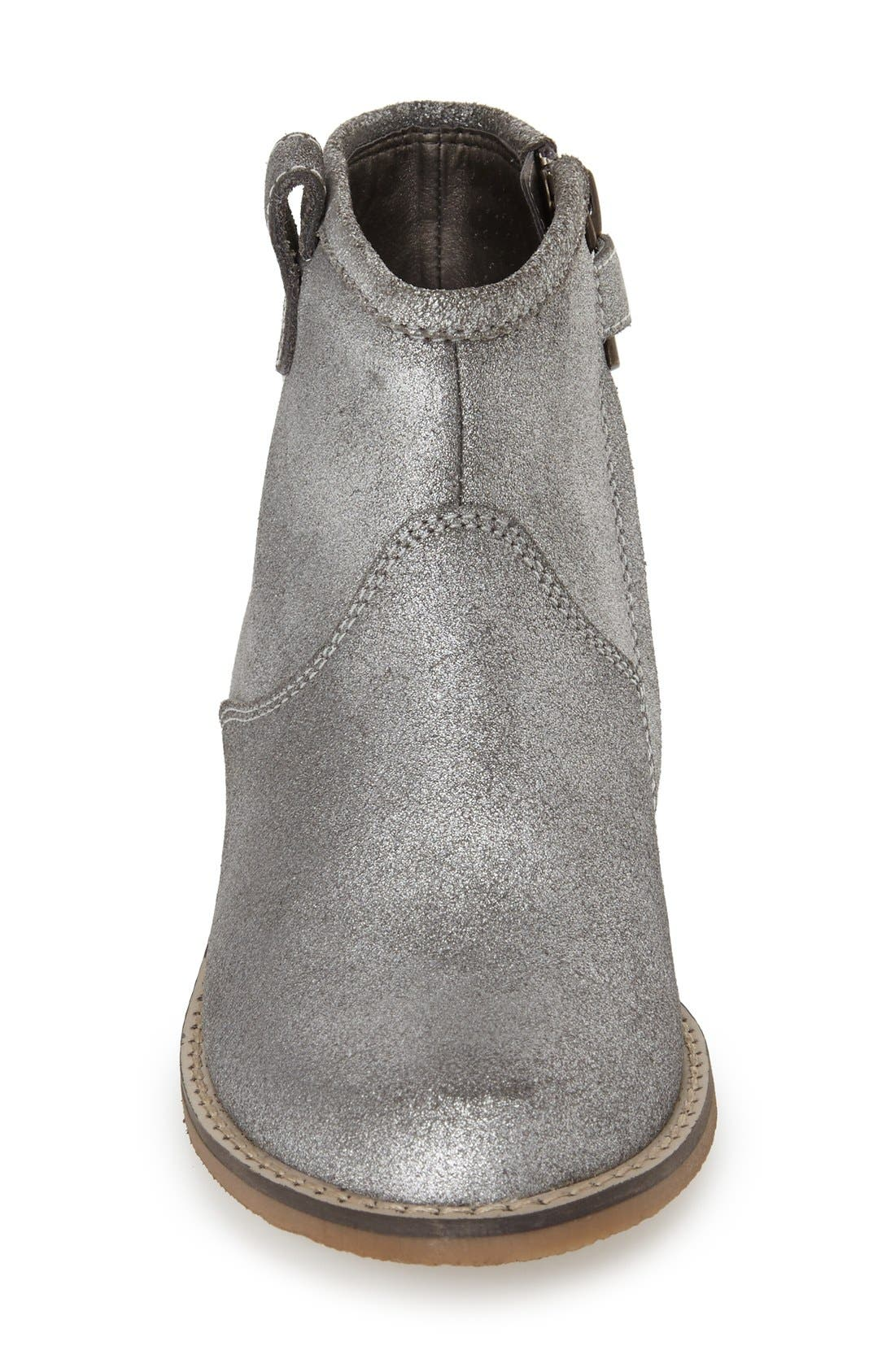 Peek 'Birch' Leather Ankle Boot,                             Alternate thumbnail 4, color,                             040