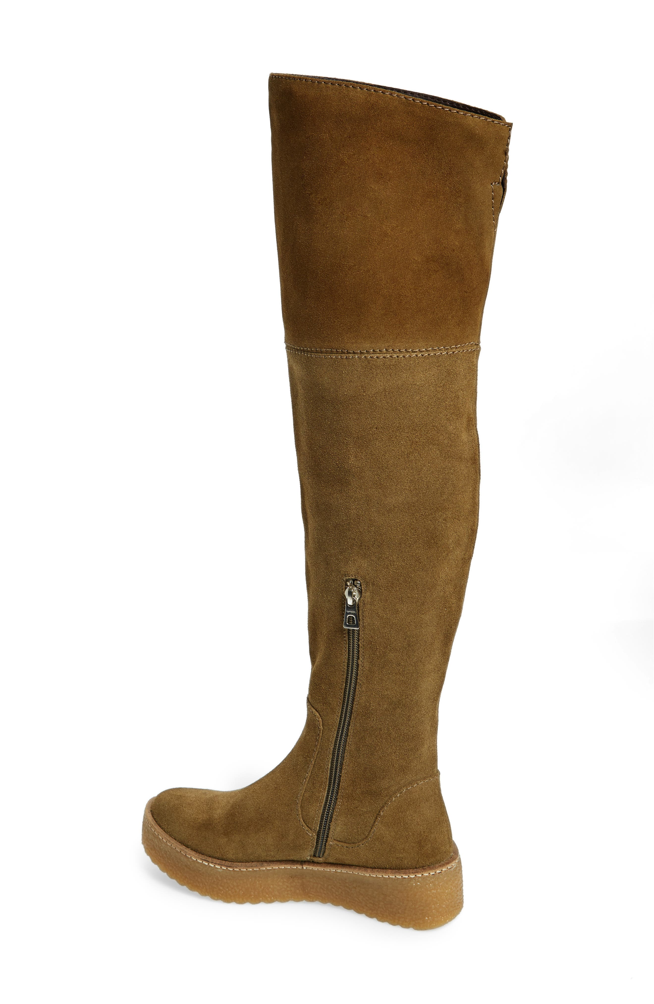 Tazza Over the Knee Boot,                             Alternate thumbnail 4, color,