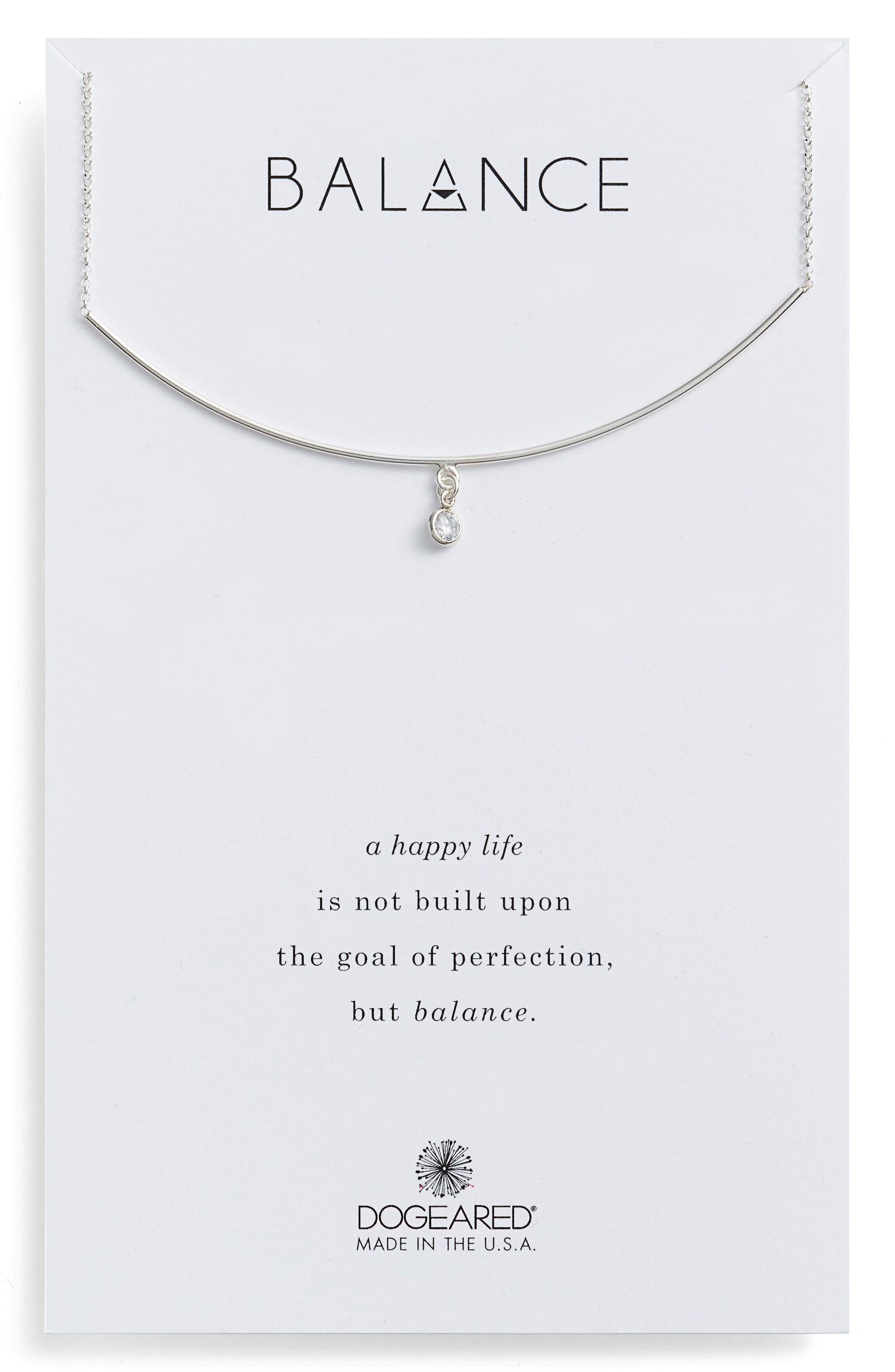 Balance Bar Necklace,                             Main thumbnail 1, color,                             040
