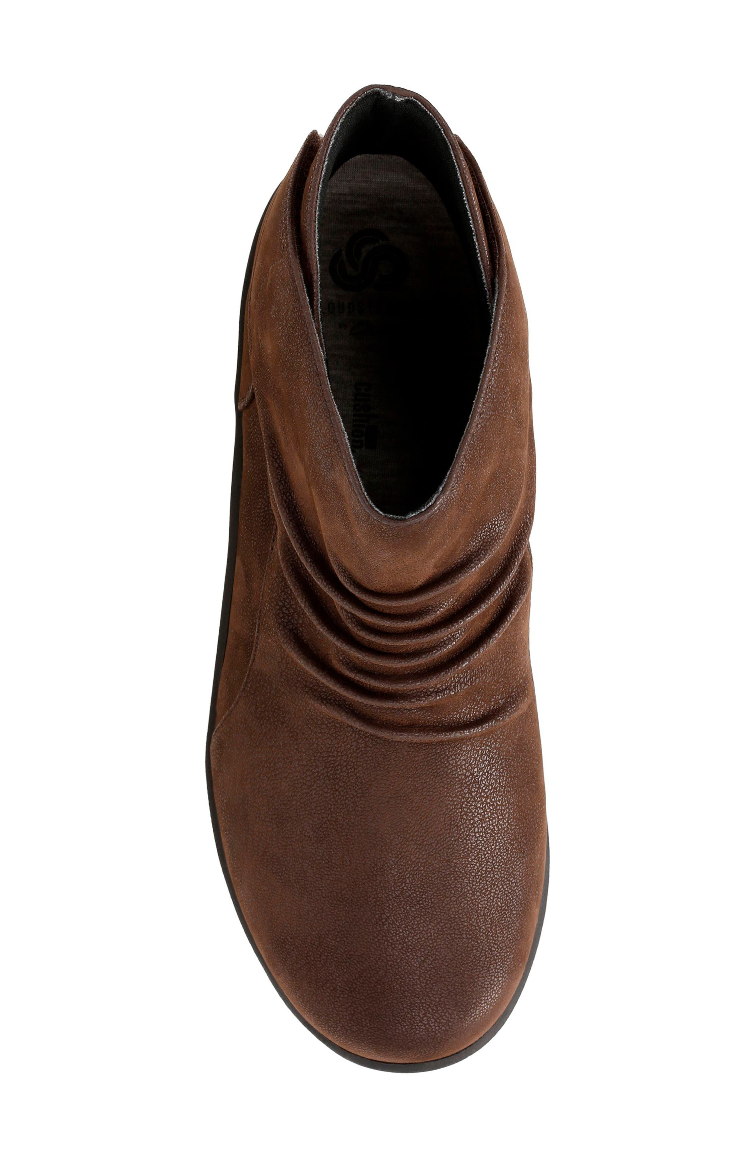 Sillian Sway Boot,                             Alternate thumbnail 5, color,                             BROWN FABRIC