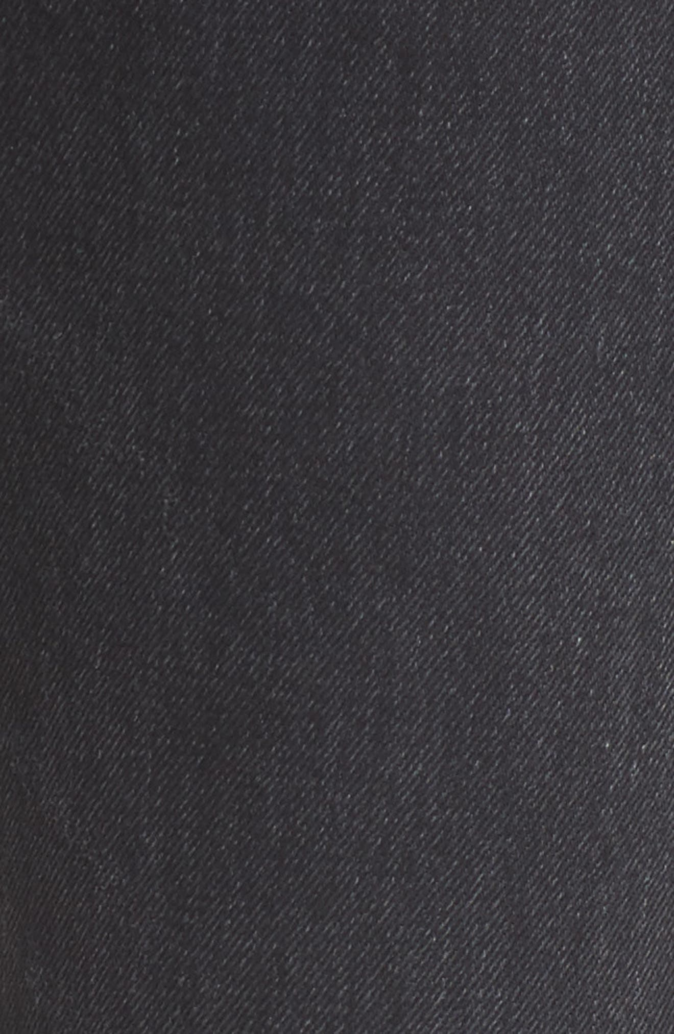 Sasha Twist Crop Jeans,                             Alternate thumbnail 5, color,                             BLACK HAWK