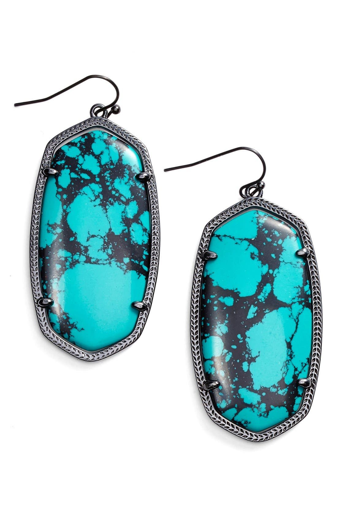 Danielle - Large Oval Statement Earrings,                             Main thumbnail 62, color,