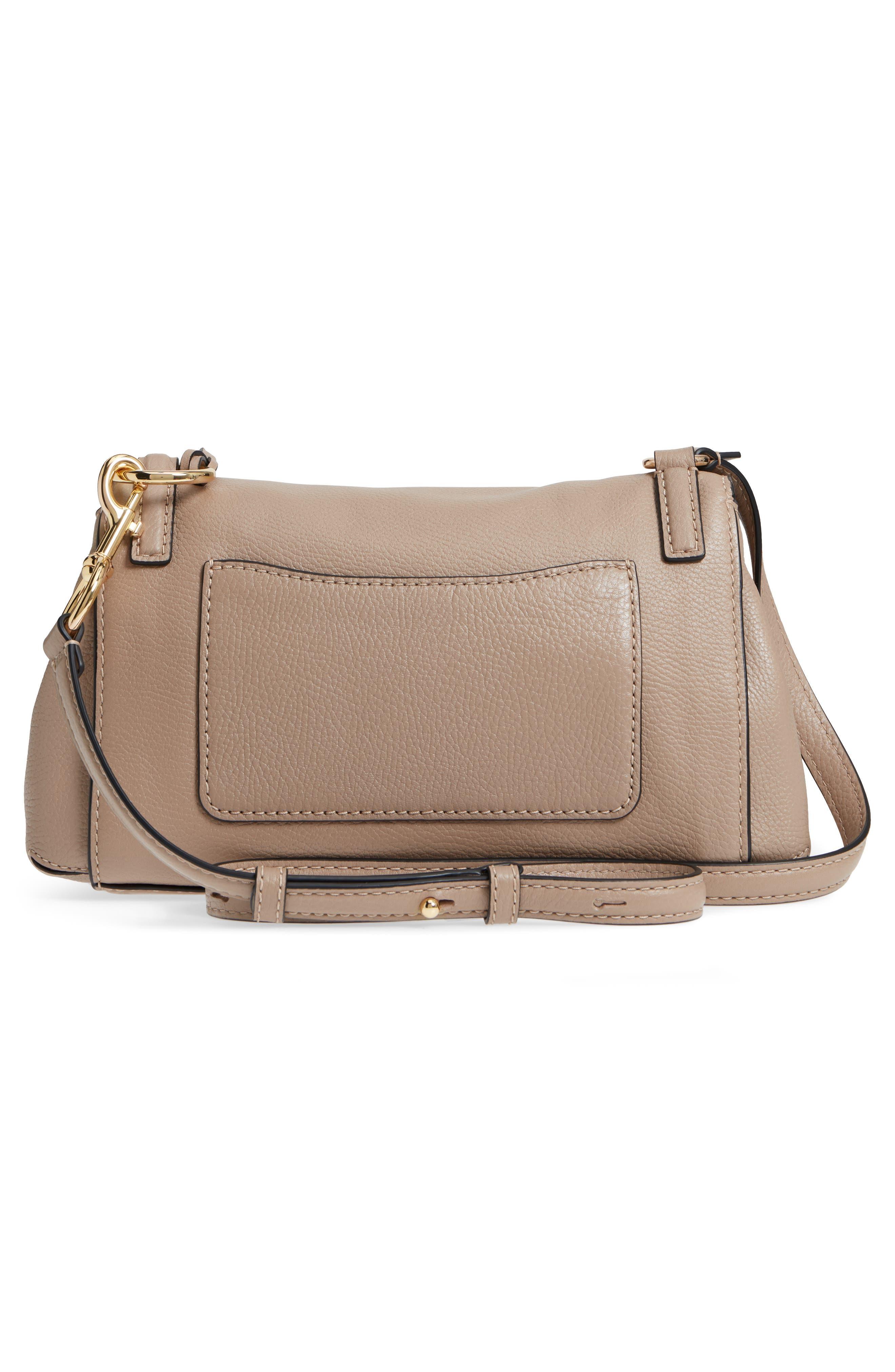 The Grind Boho Leather Shoulder Bag,                             Alternate thumbnail 3, color,                             LIGHT SLATE