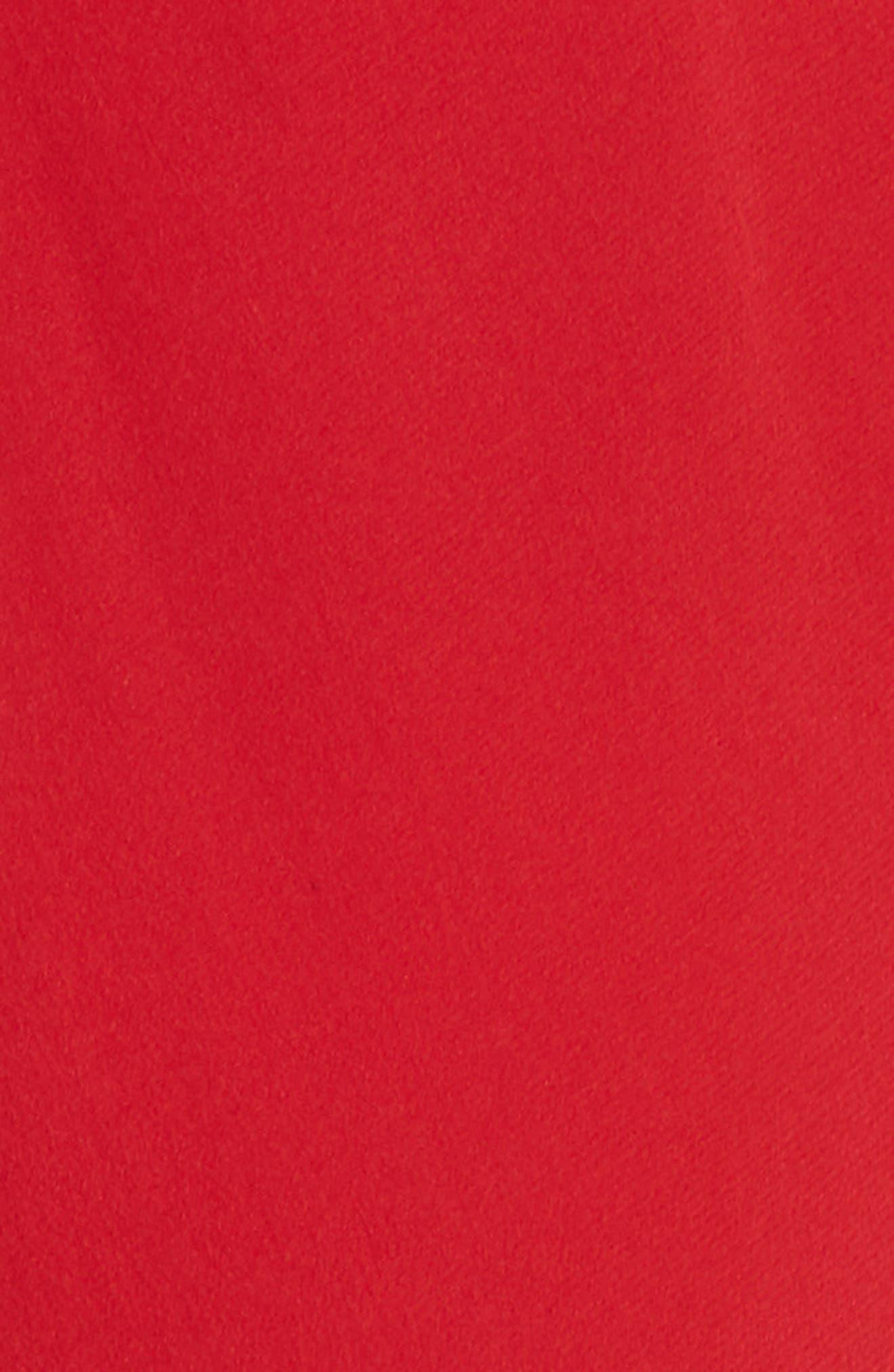 Cold Shoulder Silk Crepe Dress,                             Alternate thumbnail 5, color,                             620