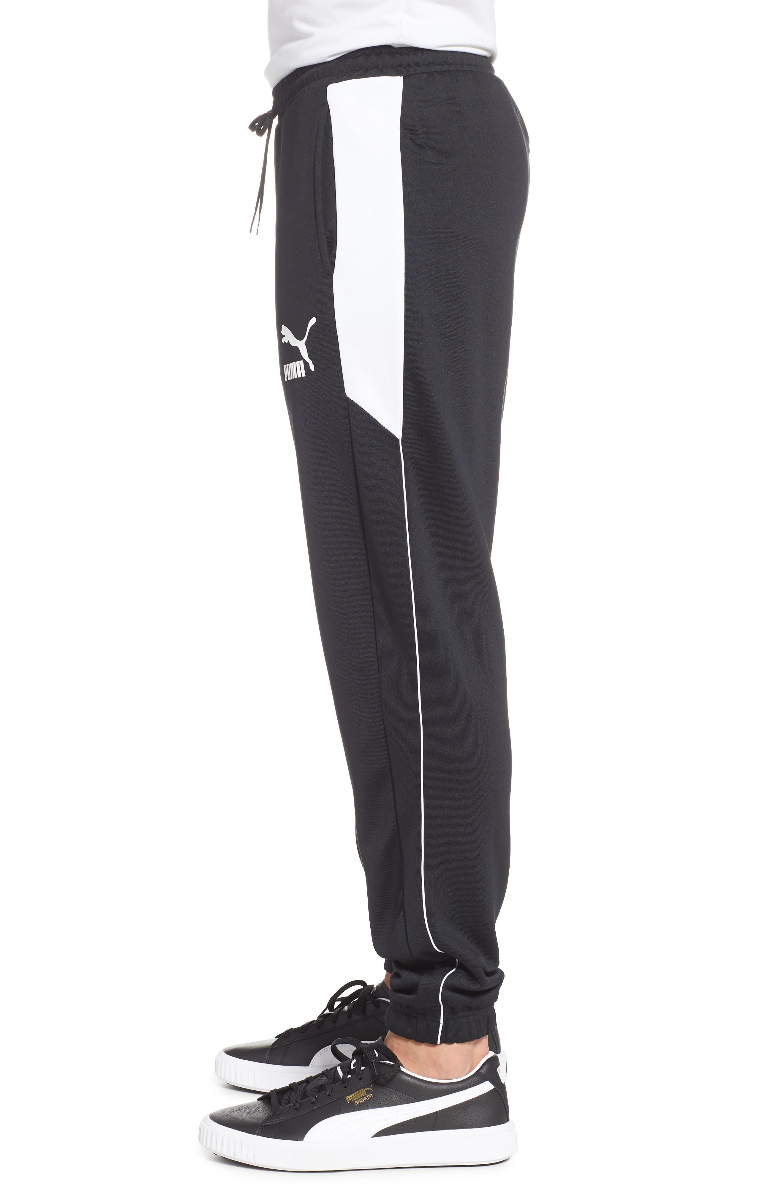 Retro Sweatpants,                             Alternate thumbnail 3, color,                             PUMA BLACK