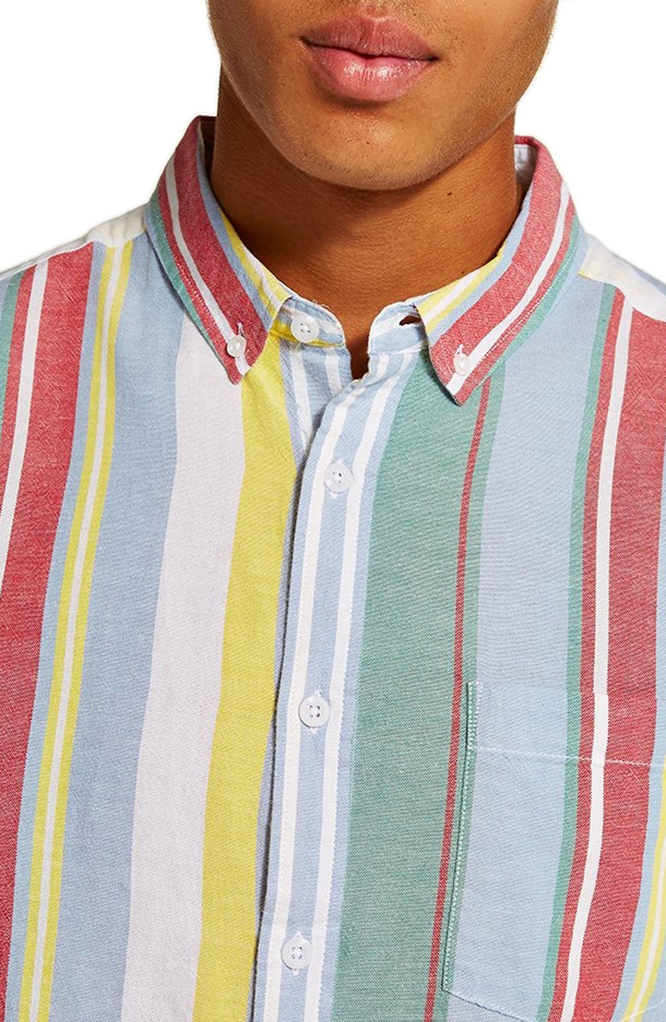 Candy Stripe Shirt,                             Main thumbnail 1, color,                             100