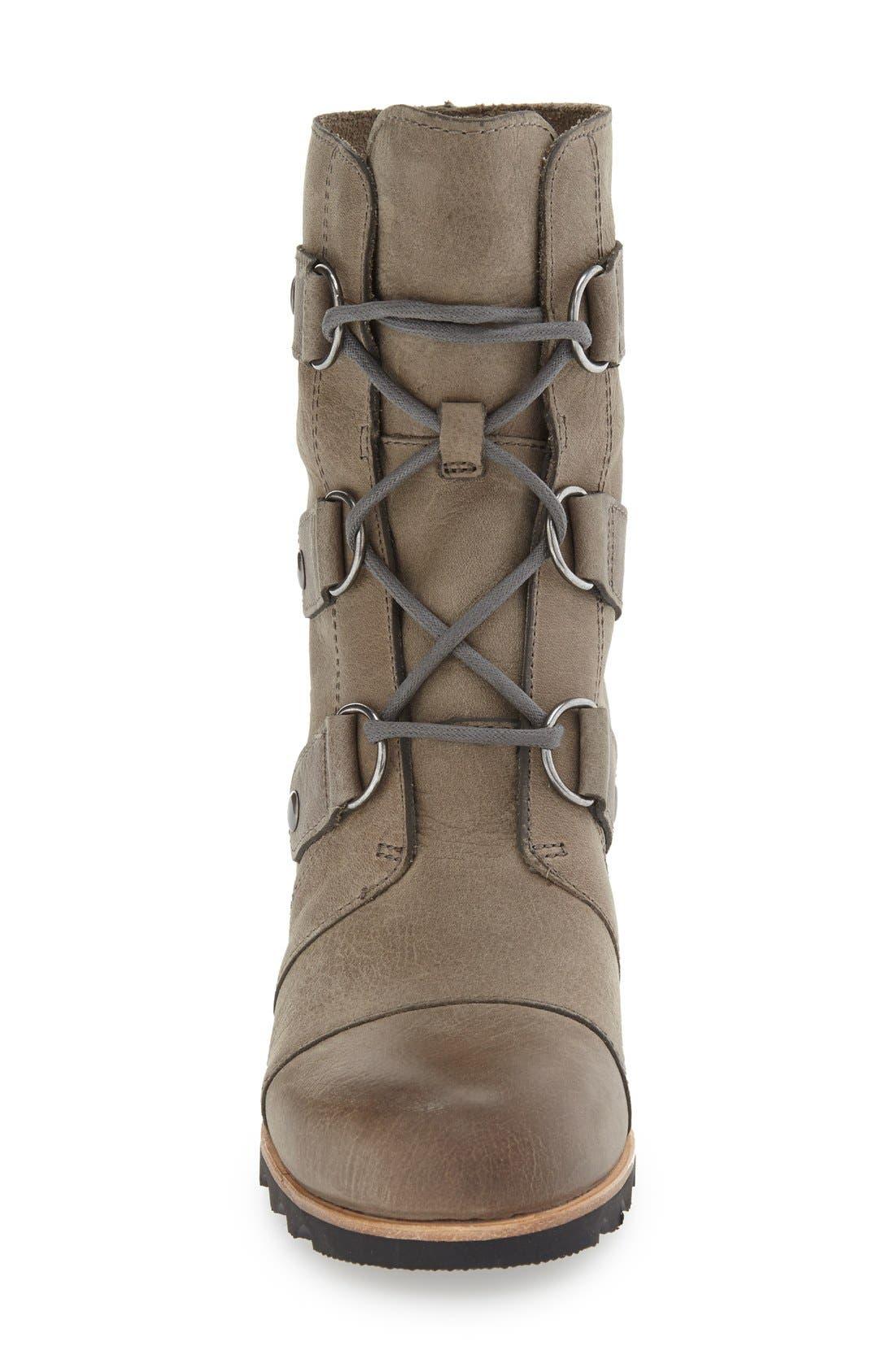 'Joan of Arctic' Waterproof Wedge Boot,                             Alternate thumbnail 22, color,