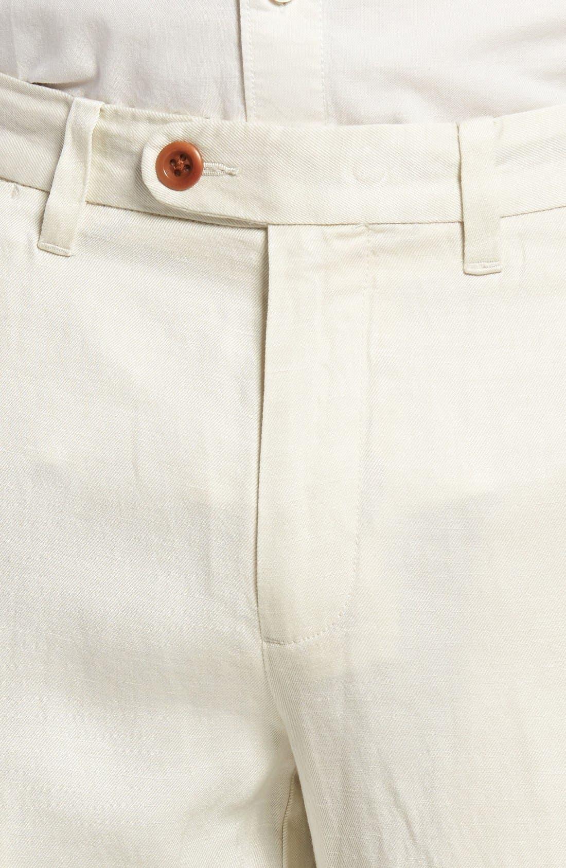 'La Jolla' Flat Front Pants,                             Alternate thumbnail 8, color,                             250