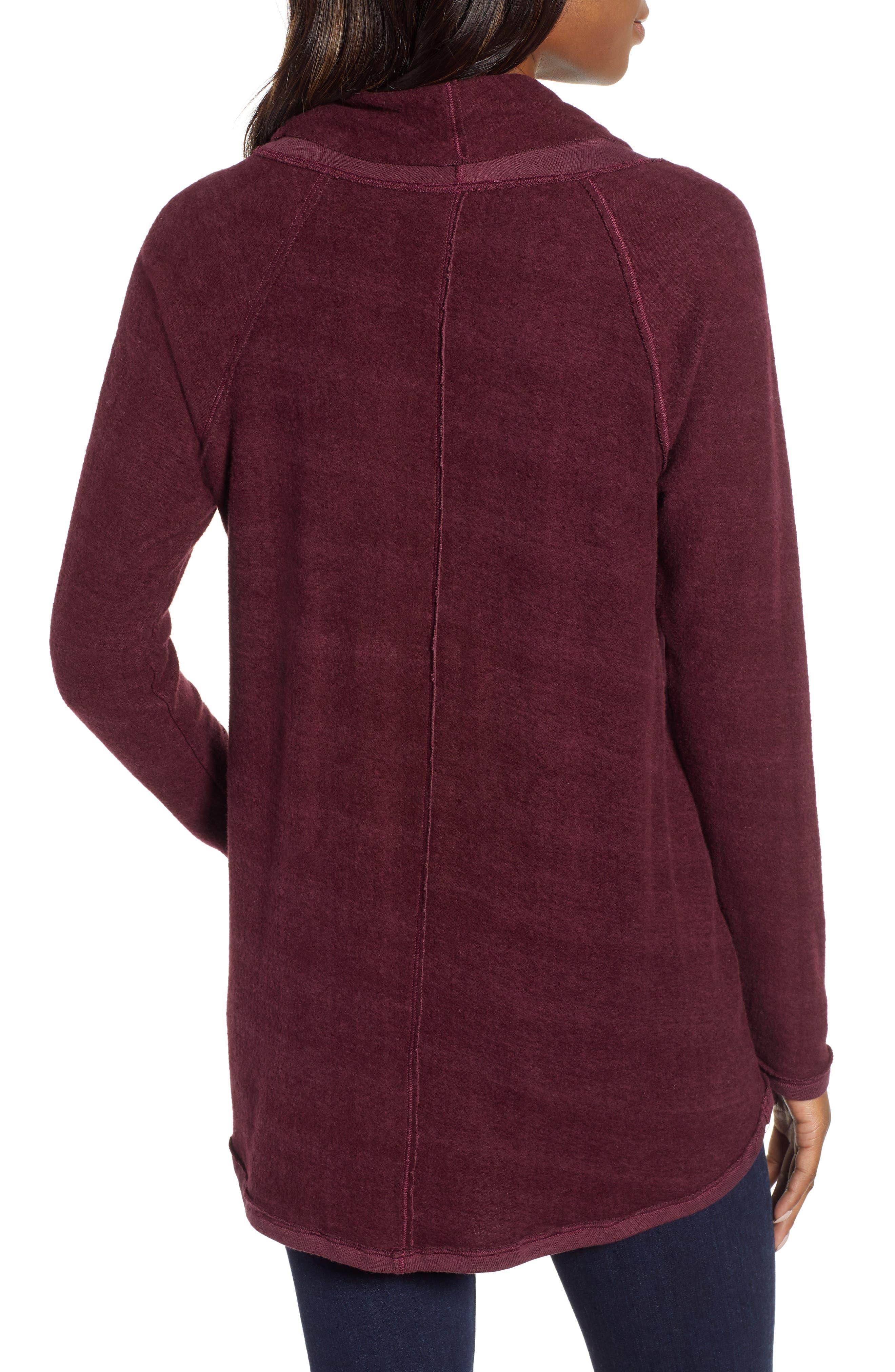Knit Cowl Neck Tunic,                             Alternate thumbnail 2, color,                             930