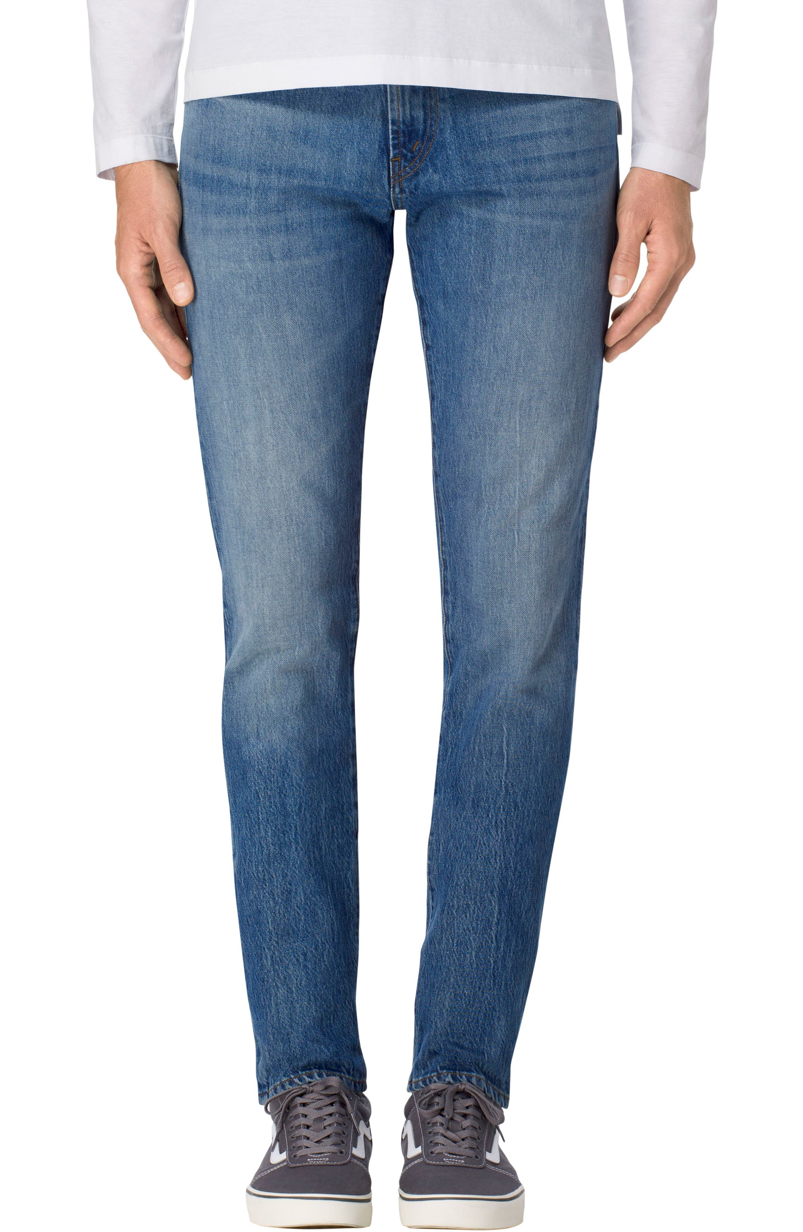 Tyler Slim Fit Jeans,                             Main thumbnail 1, color,                             451