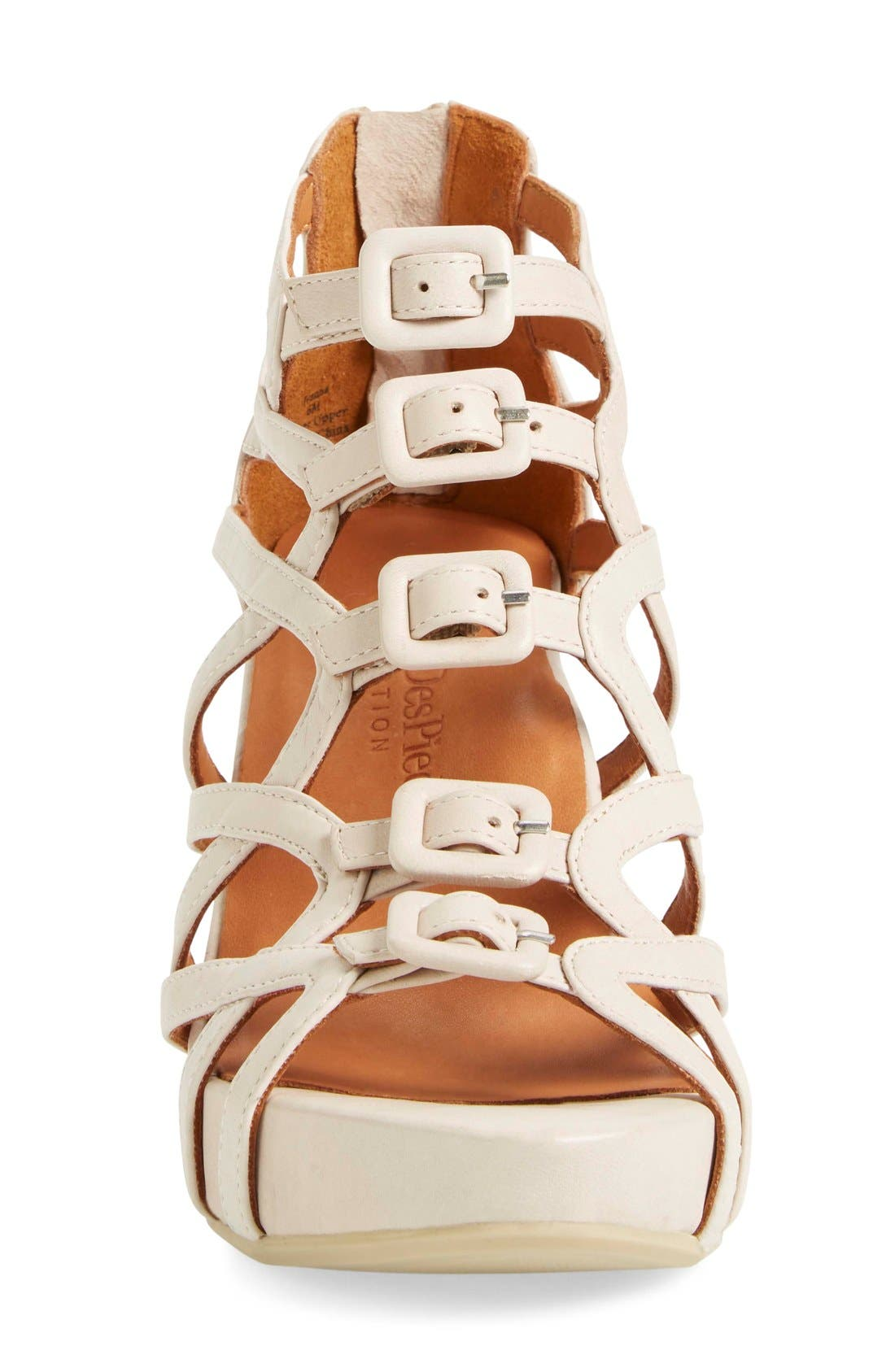 Ivanna' Gladiator Wedge Sandal,                             Alternate thumbnail 3, color,                             260