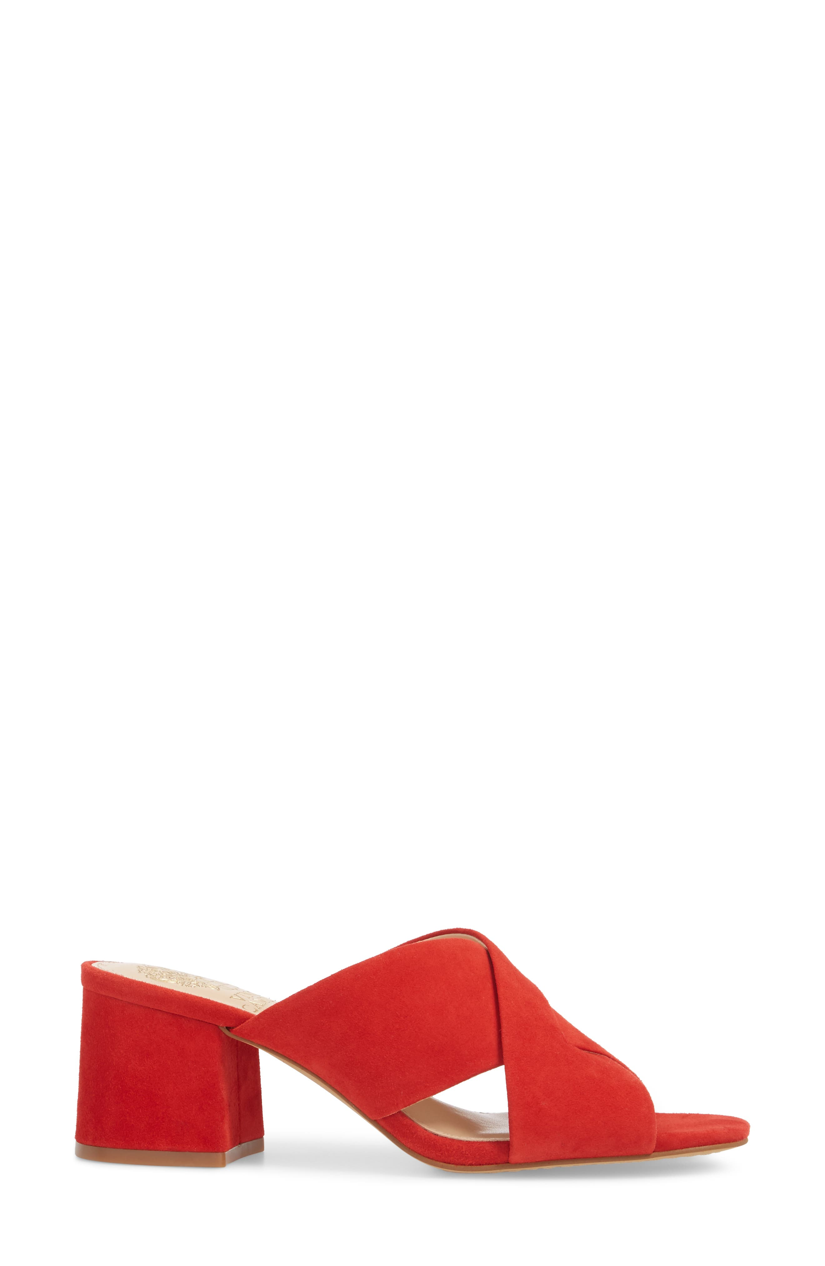 Stania Sandal,                             Alternate thumbnail 3, color,                             RED HOT RIO SUEDE