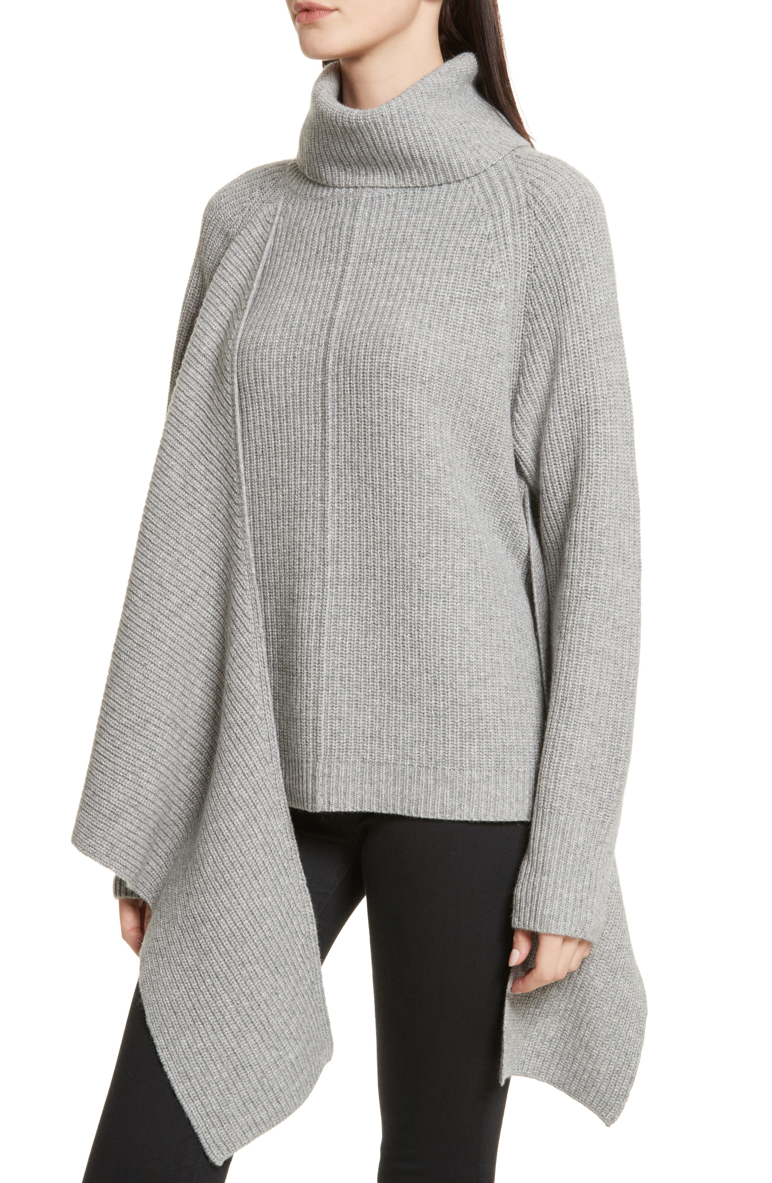 Bree Wrap Waist Sweater,                             Alternate thumbnail 4, color,                             020