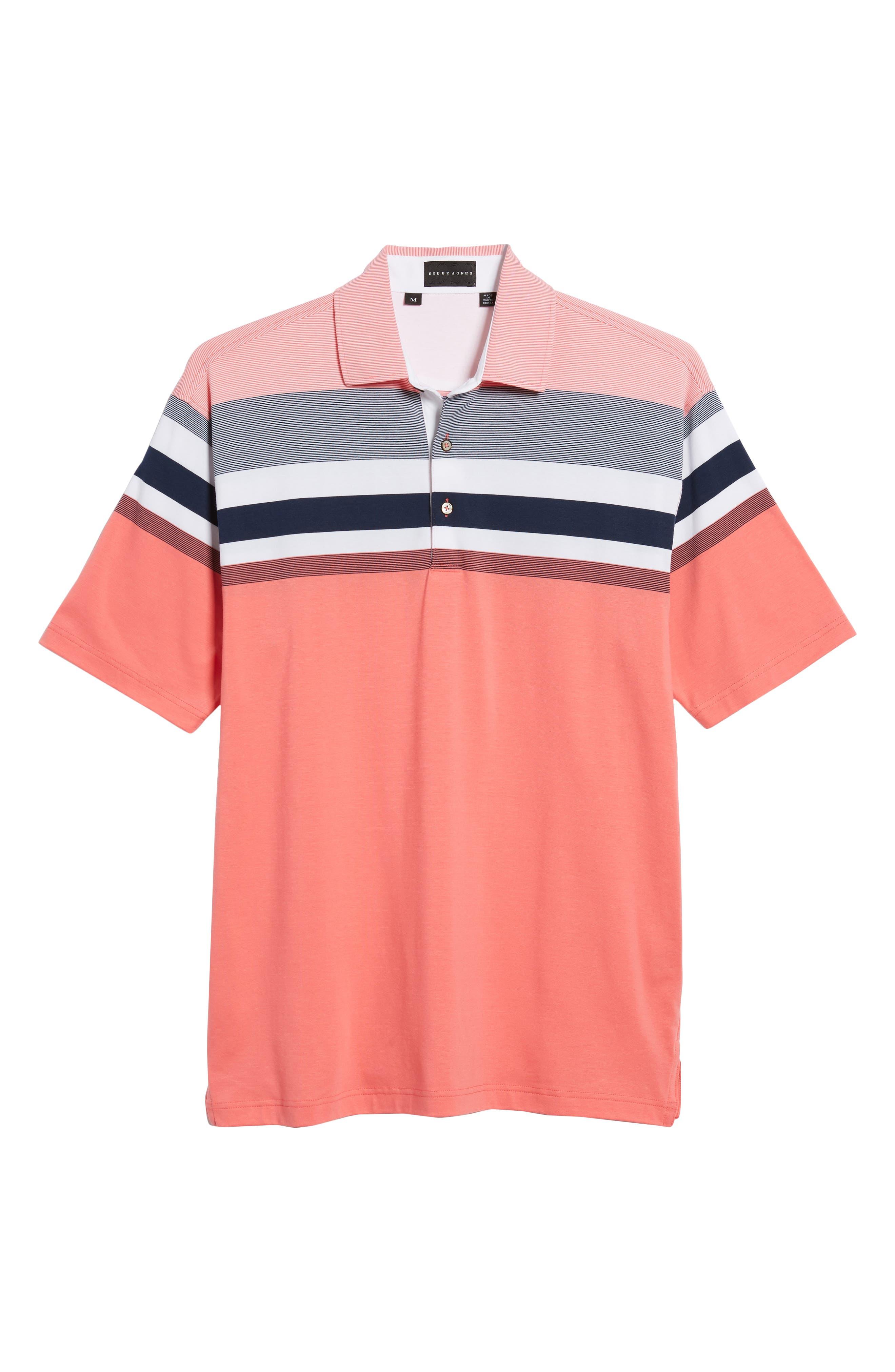 Horizon Stripe Polo,                             Alternate thumbnail 12, color,