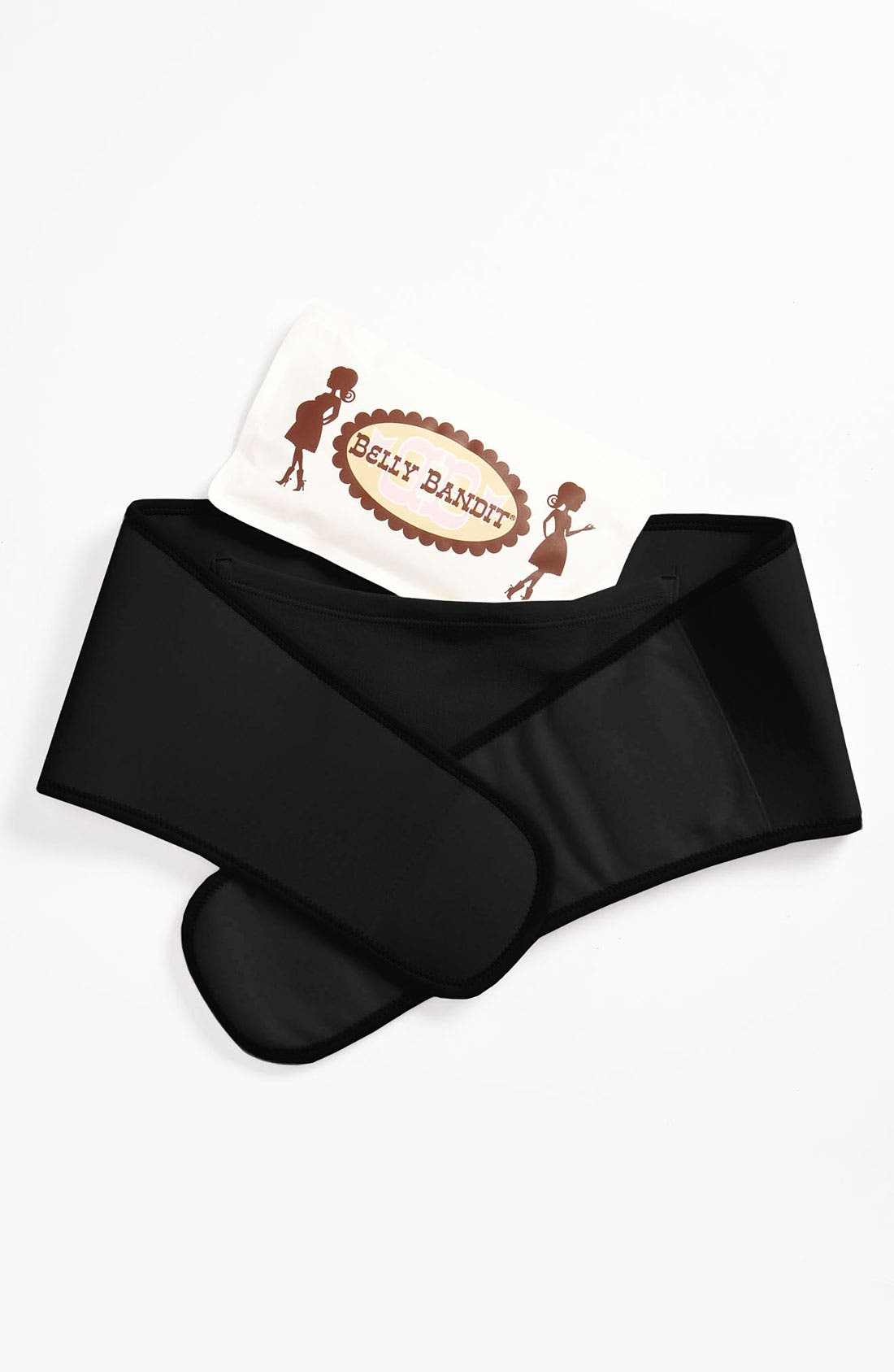 'Upsie Belly' Belly Support Belt,                             Alternate thumbnail 3, color,                             BLACK
