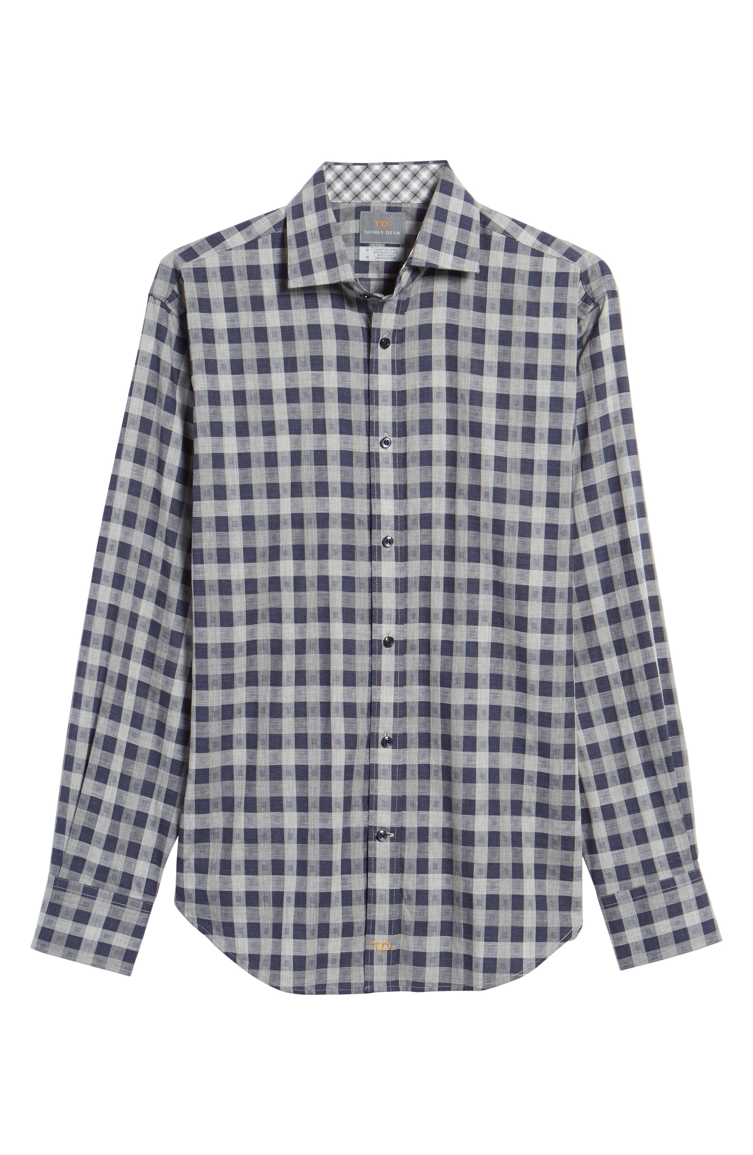 Regular Fit Check Sport Shirt,                             Alternate thumbnail 6, color,                             410