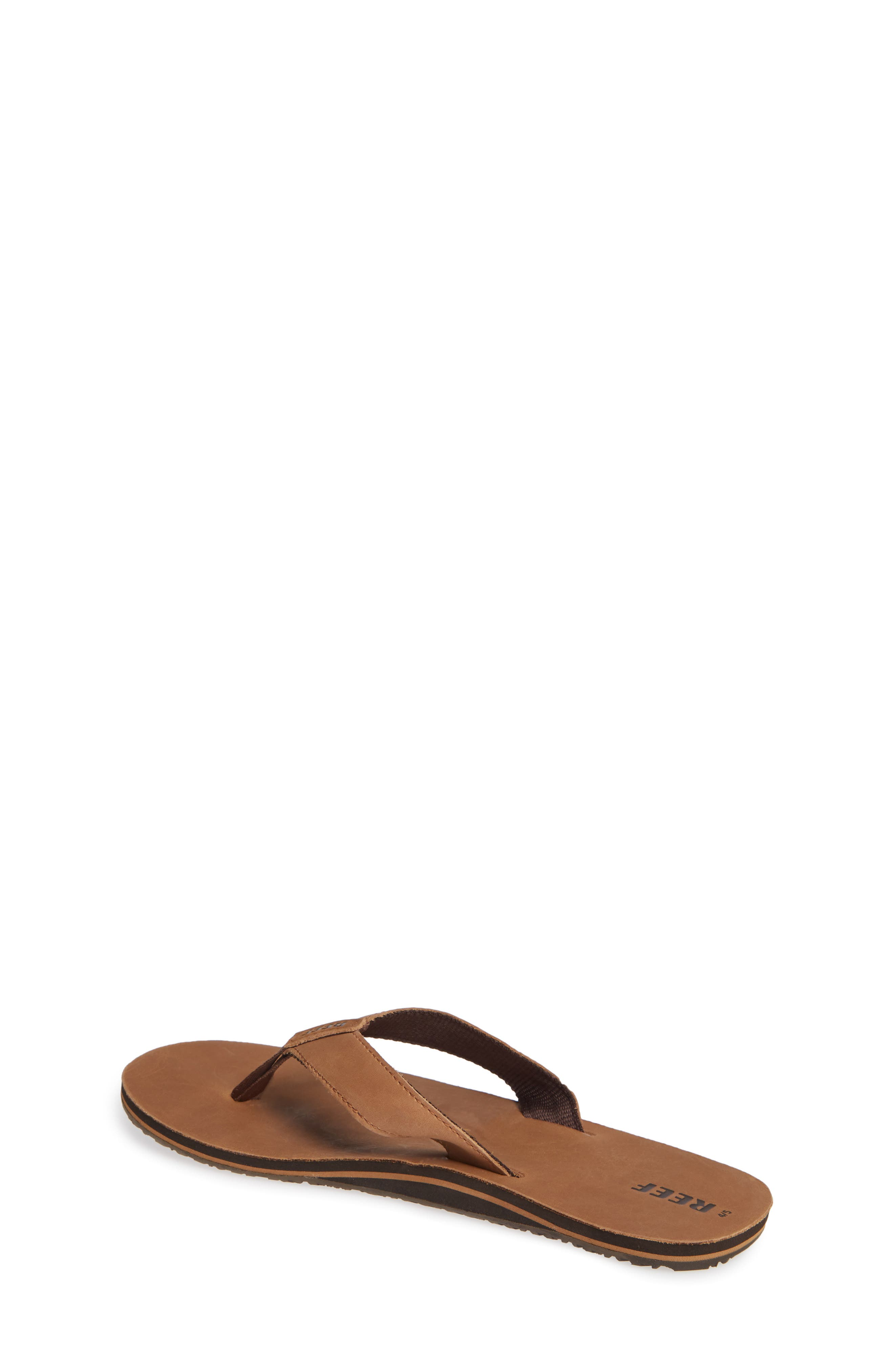 'Grom' Leather Flip-Flop,                             Alternate thumbnail 2, color,                             200