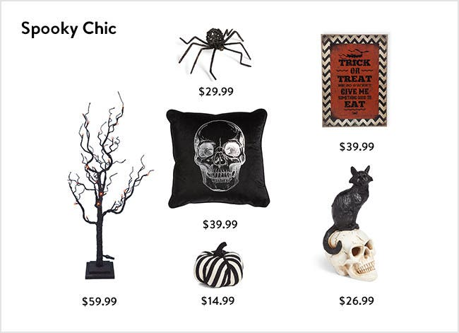 Spooky chic.