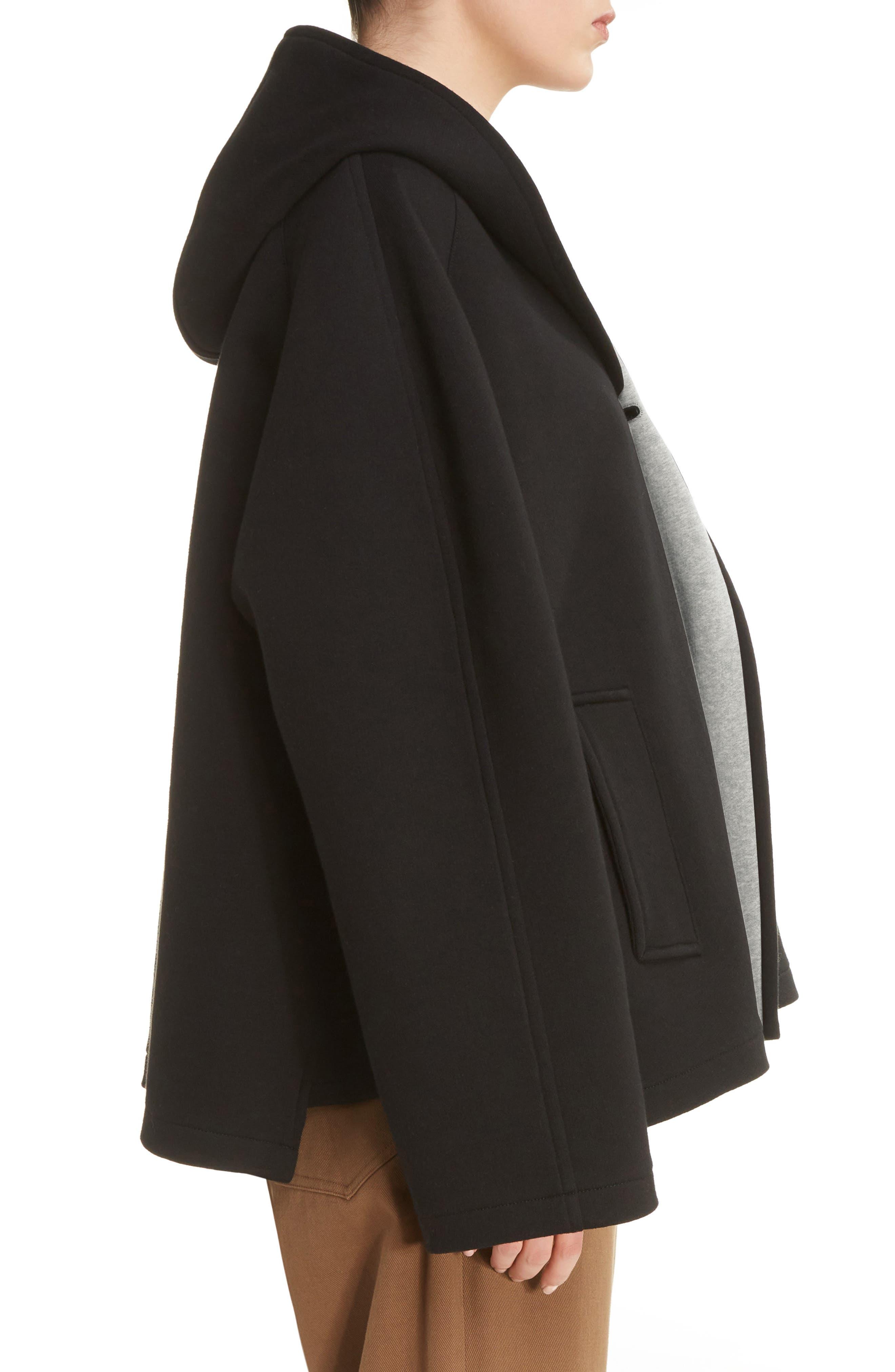 U-Hood Short Jacket,                             Alternate thumbnail 3, color,                             020