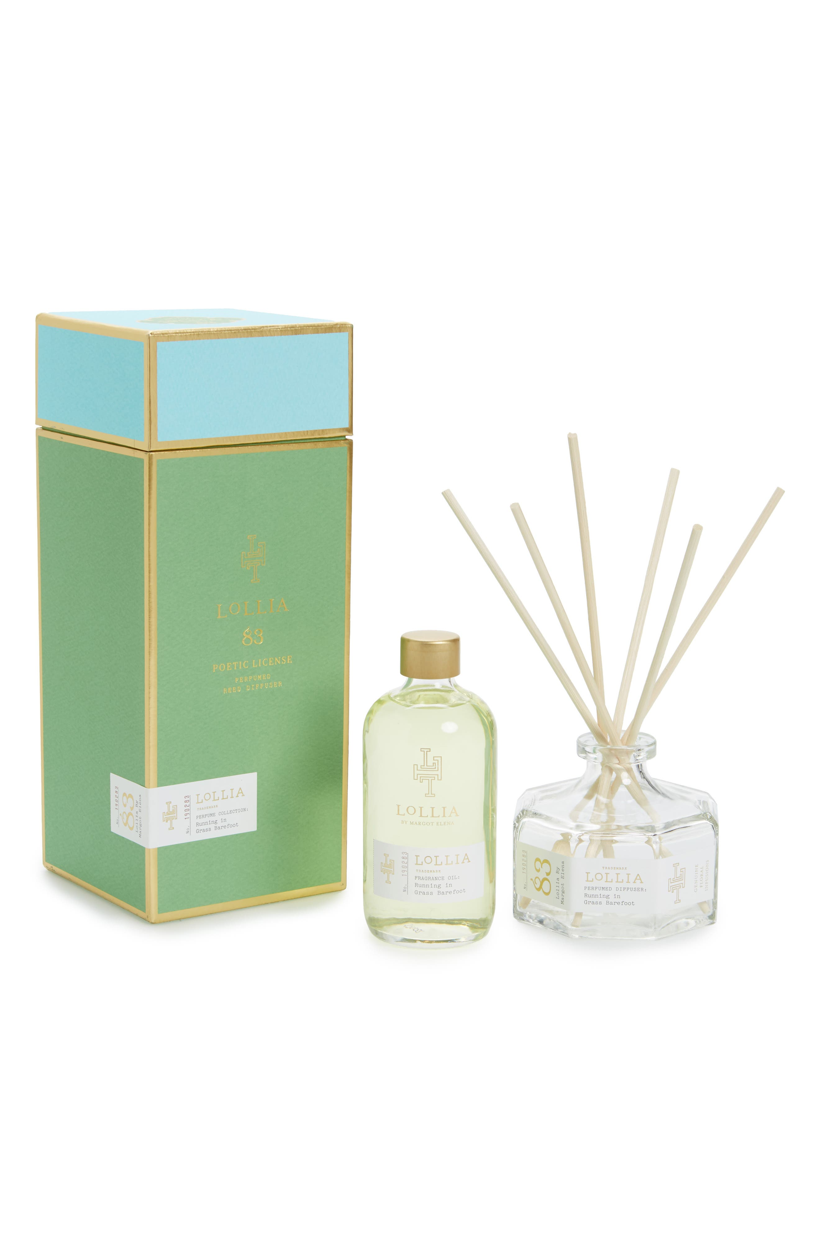 Poetic License Reed Diffuser,                             Main thumbnail 1, color,                             300