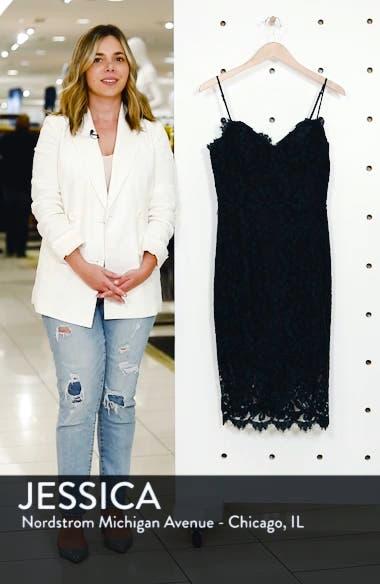 Sweetheart Neck Lace Sheath Dress, sales video thumbnail