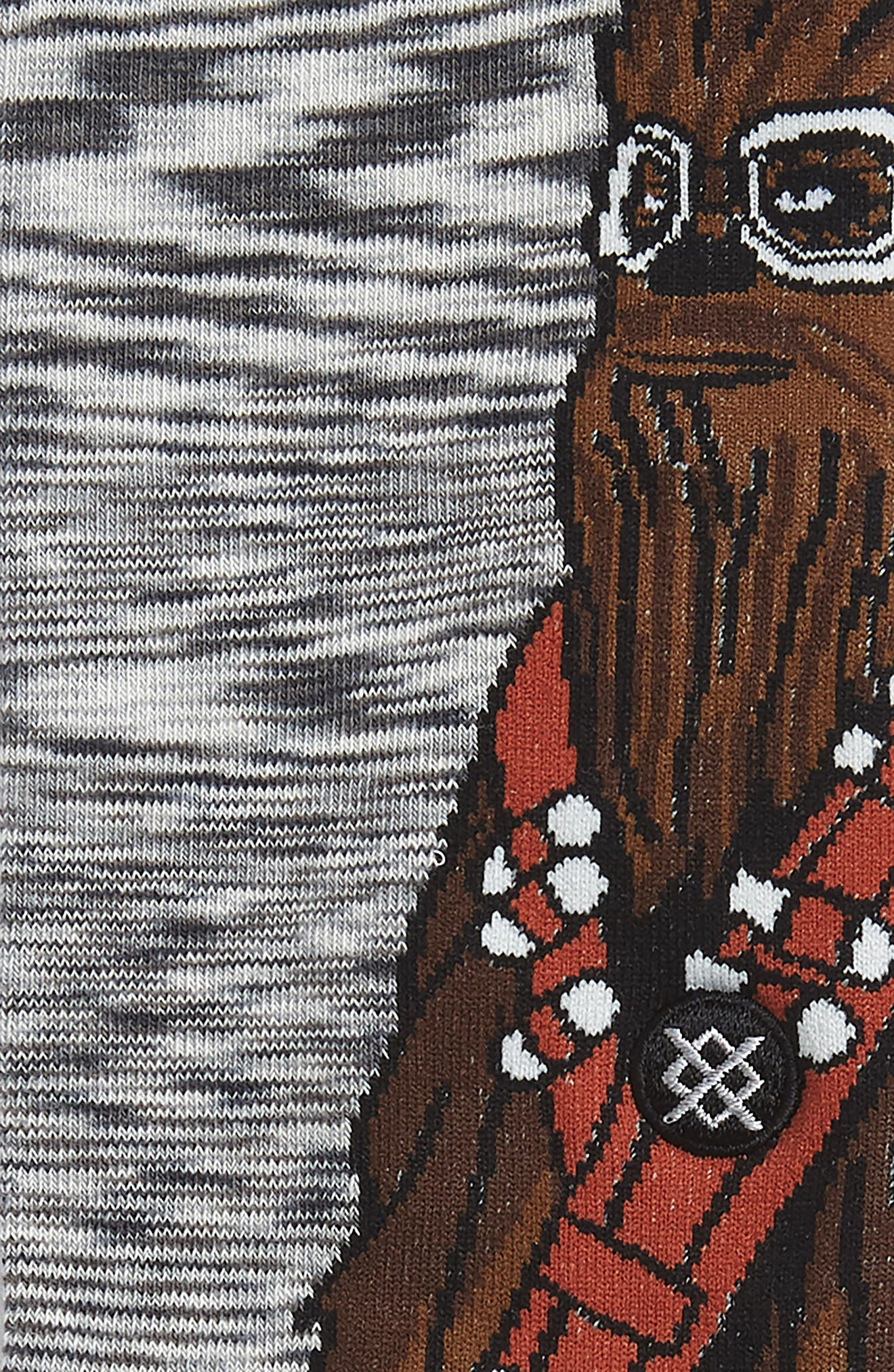 Star Wars Kessel Run Socks,                             Alternate thumbnail 3, color,                             GREY
