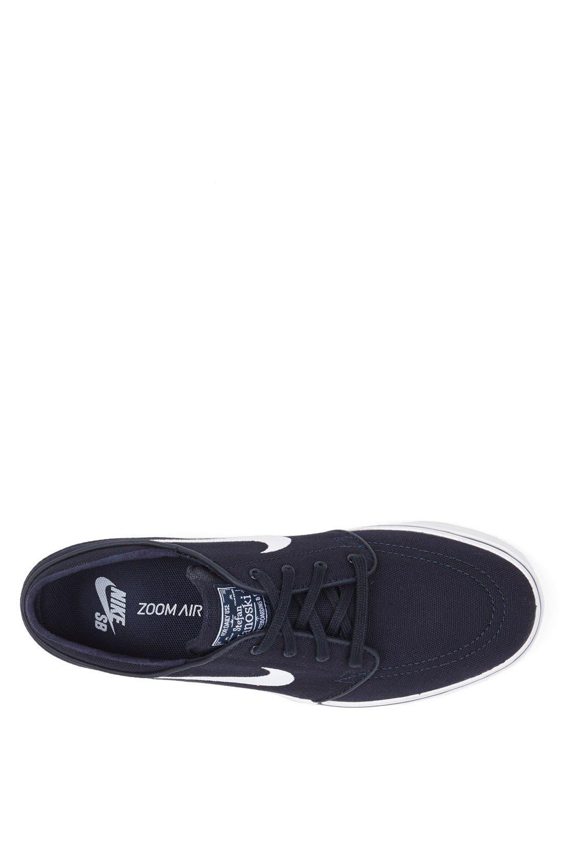 Zoom - Stefan Janoski SB Canvas Skate Shoe,                             Alternate thumbnail 161, color,