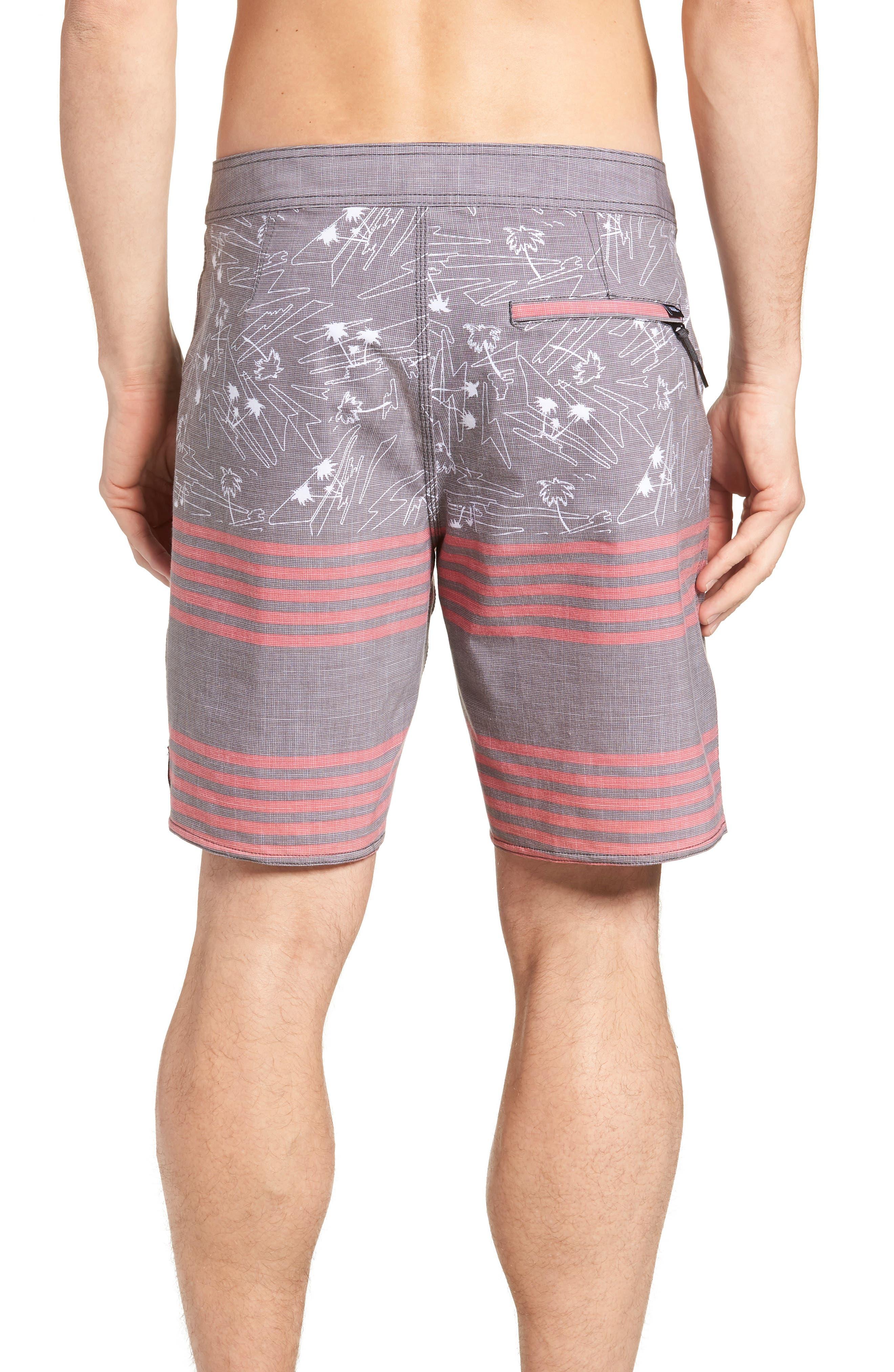 Era Board Shorts,                             Alternate thumbnail 2, color,                             BLACK ISLAND BEACH