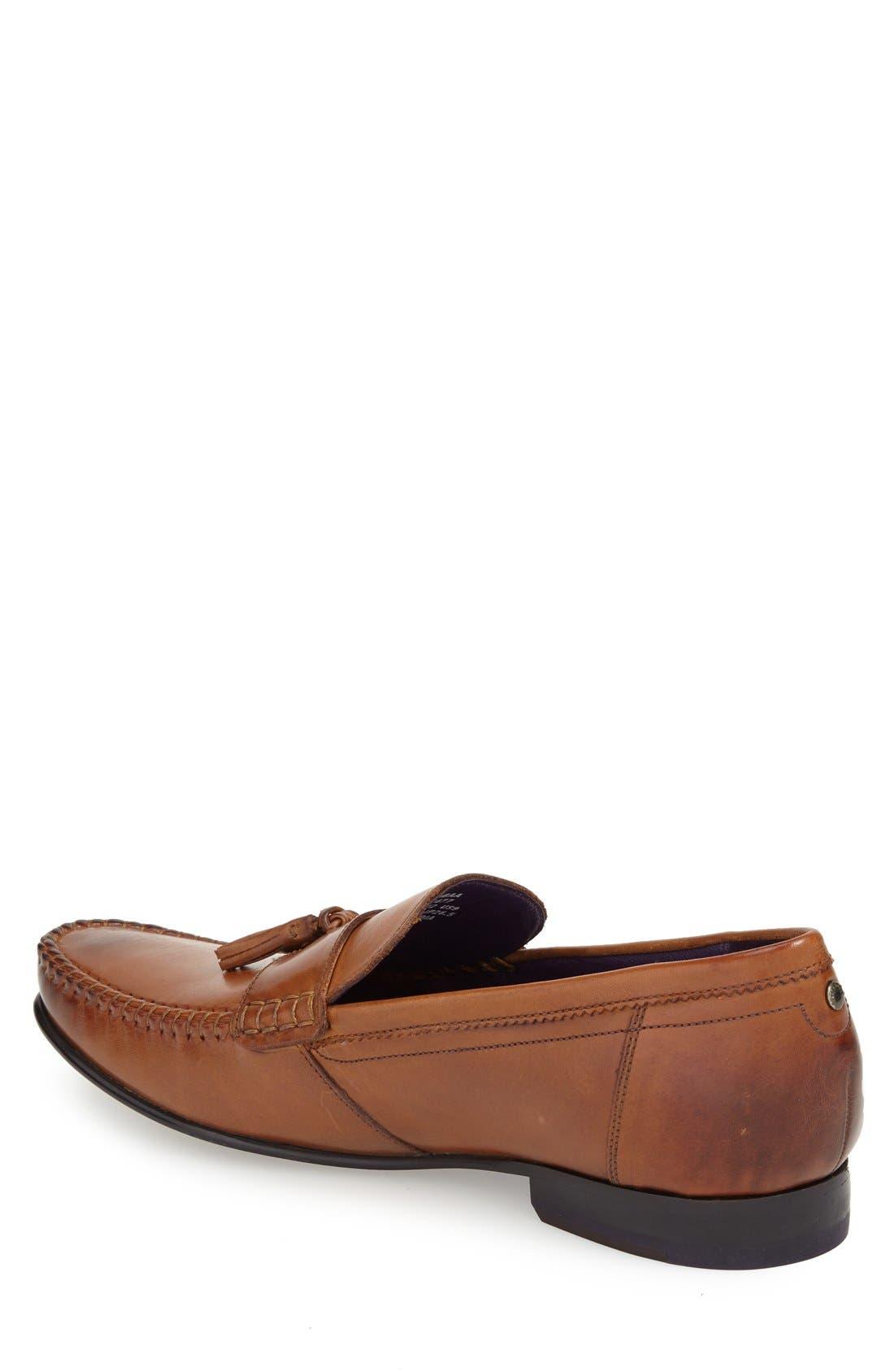 'Simbaa' Tassel Loafer,                             Alternate thumbnail 8, color,