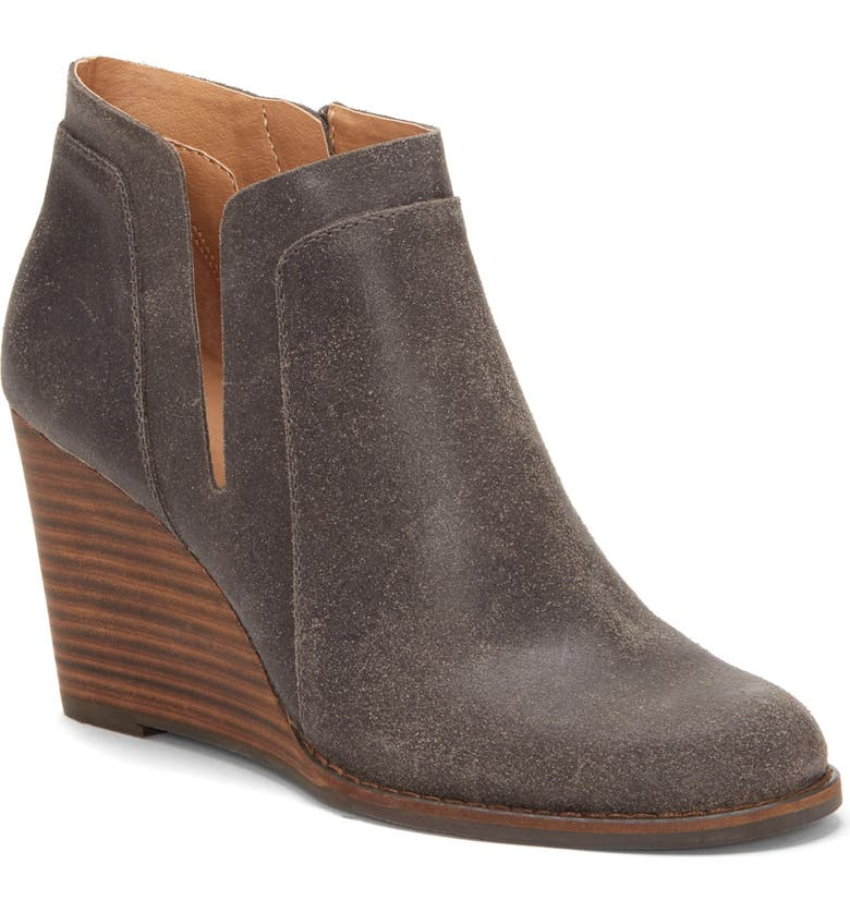 Searching for Lucky Brand Yabba Wedge Bootie (Women) Good price