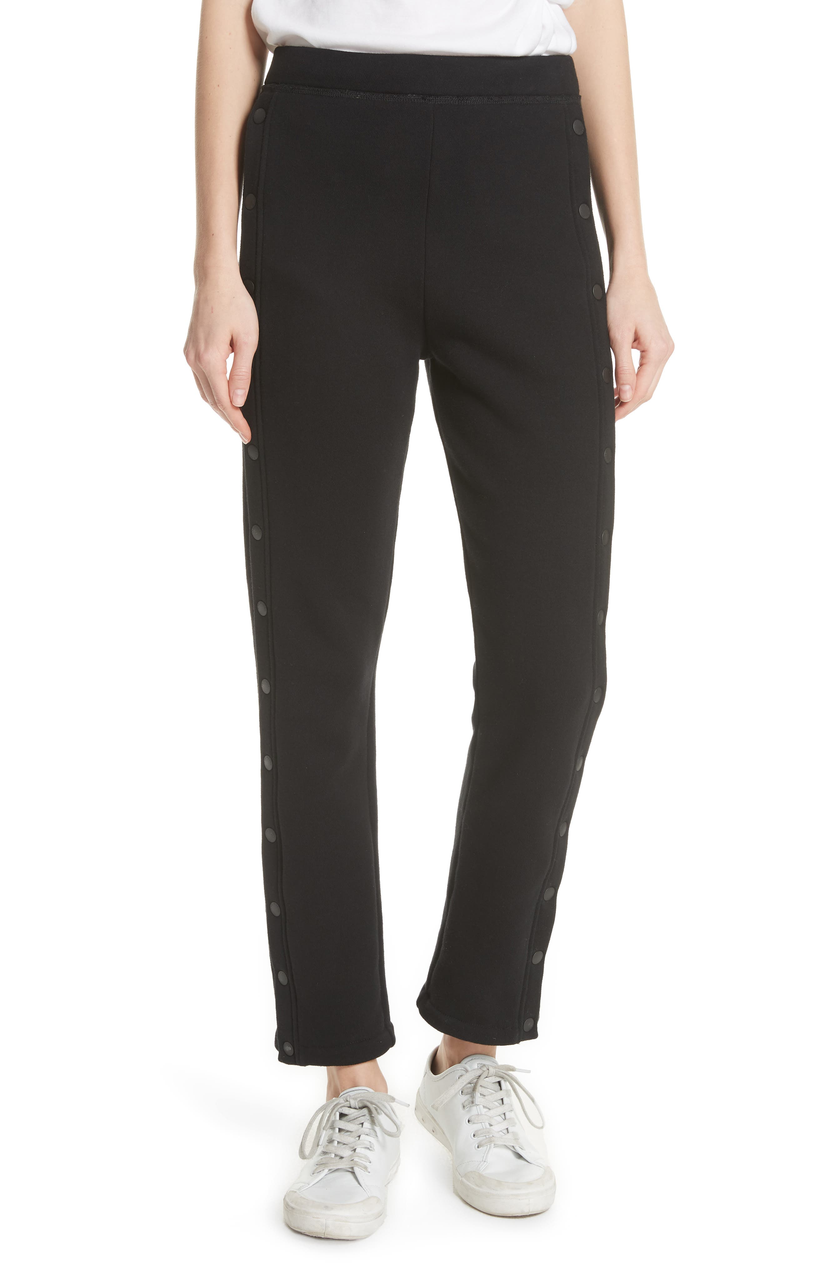 Side Snap Track Pants,                         Main,                         color, 001