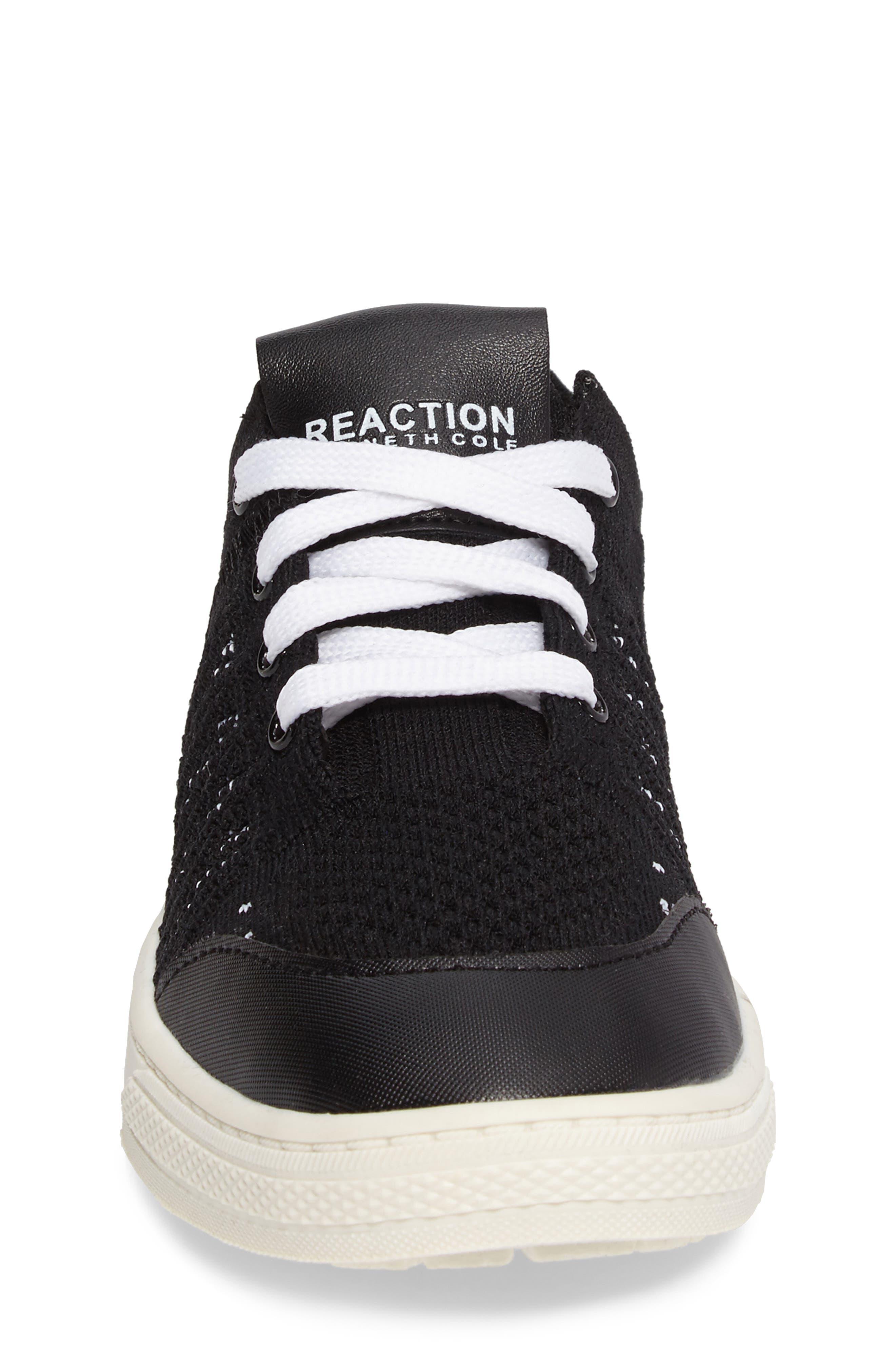 Kick Insight Woven Sneaker,                             Alternate thumbnail 4, color,                             001