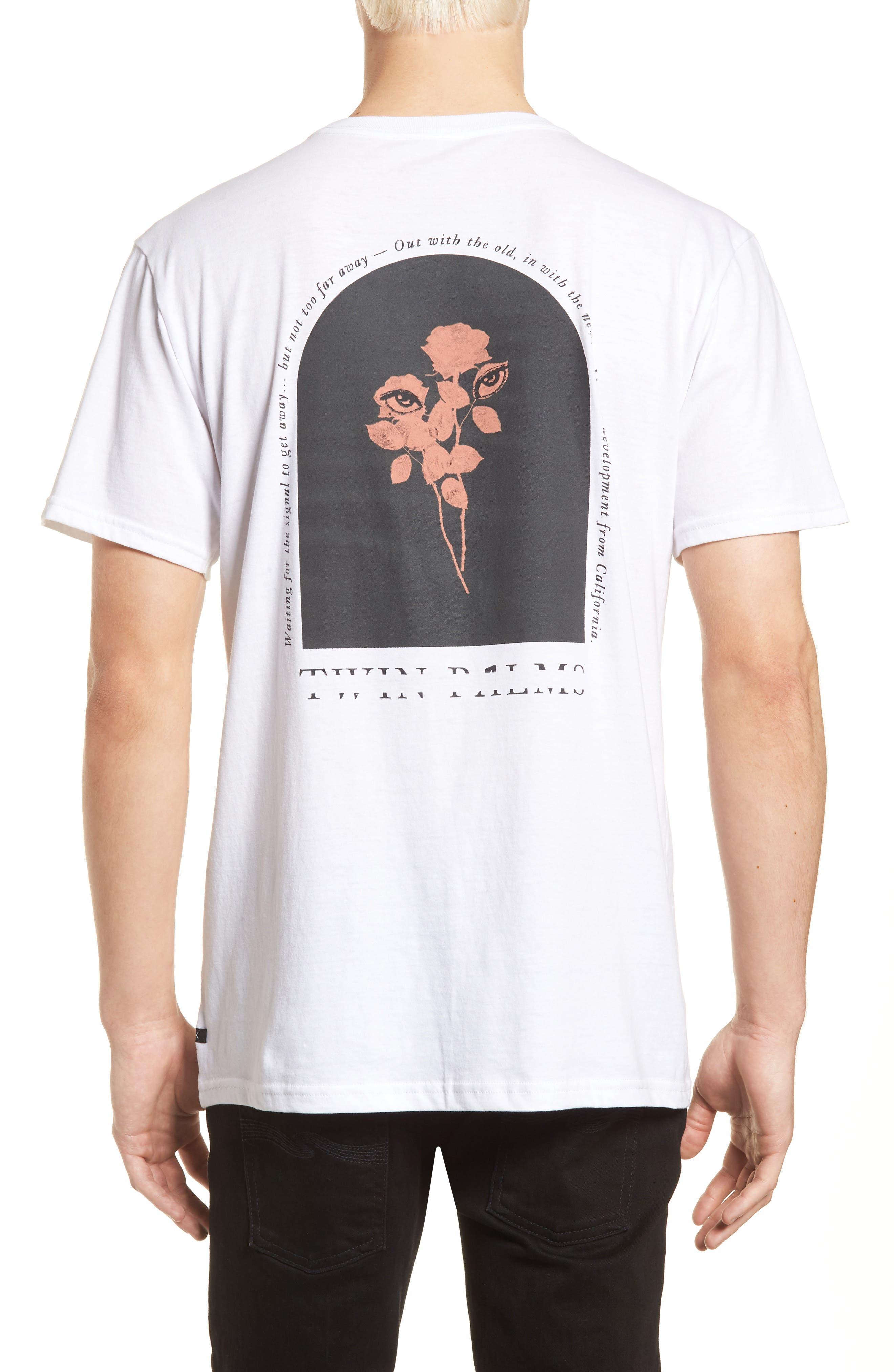 Twin Palms Graphic T-Shirt,                             Alternate thumbnail 6, color,
