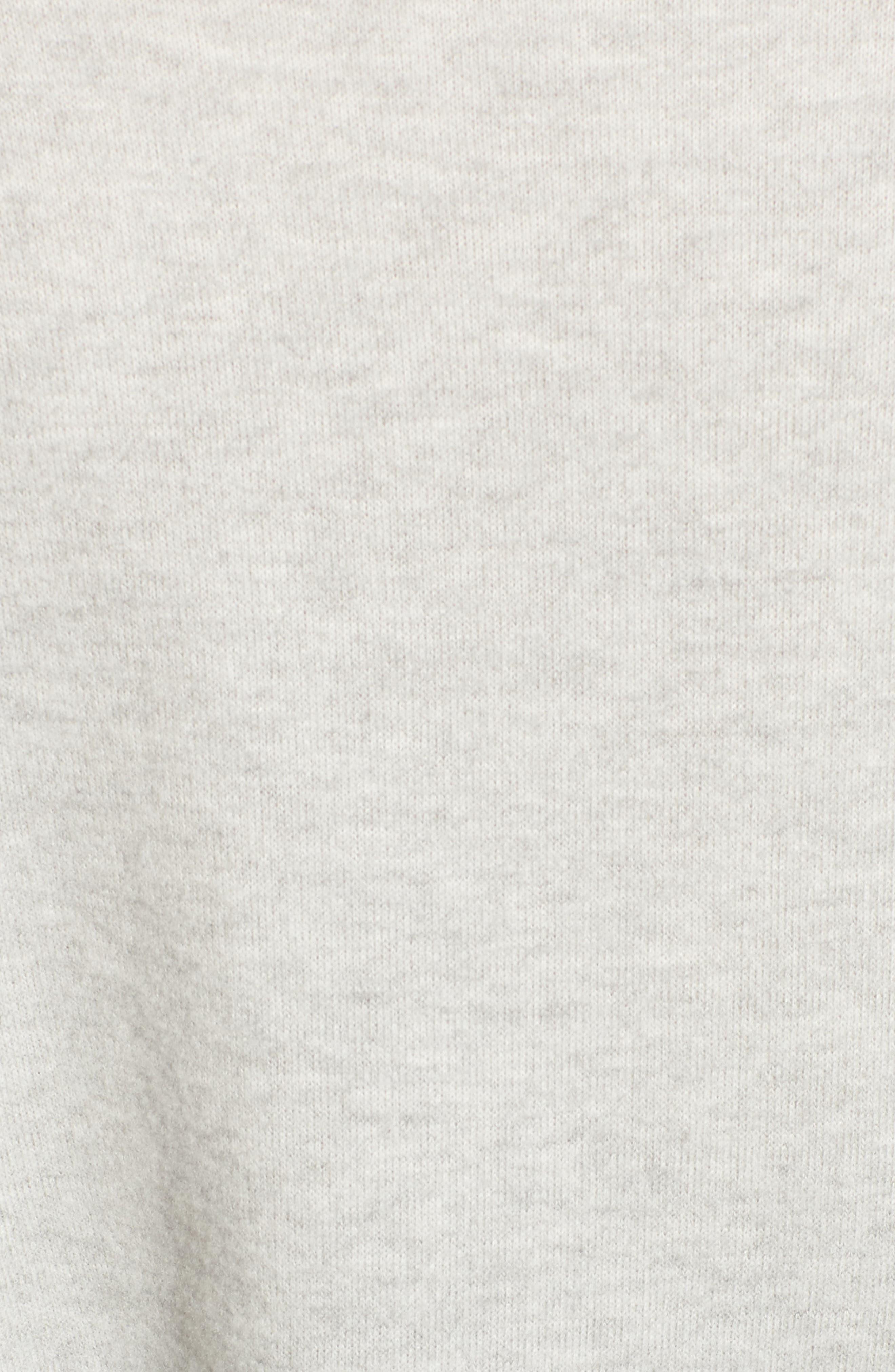 Crop Mock Neck Pullover,                             Alternate thumbnail 10, color,