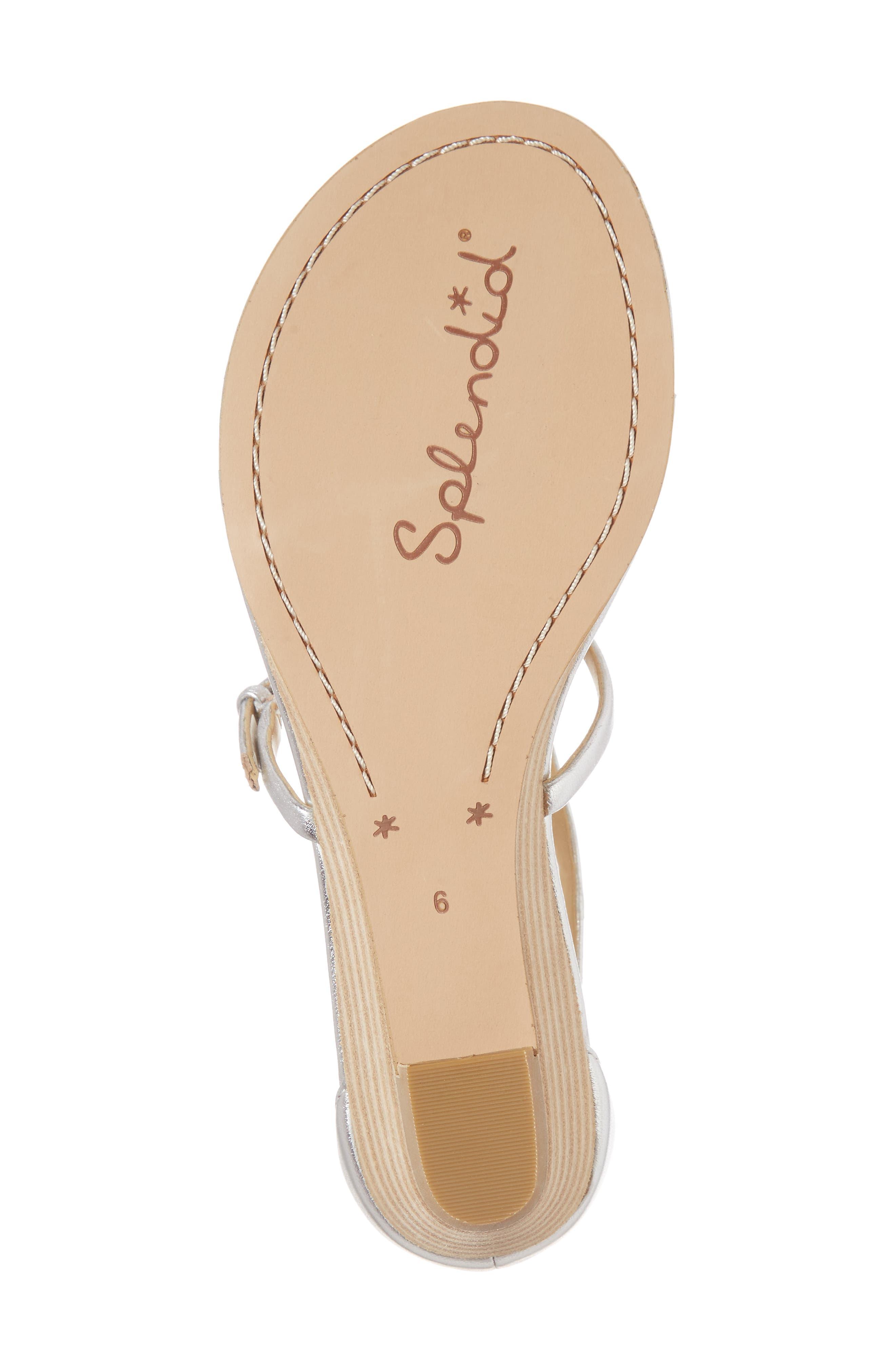 Brooklyn V-Strap Wedge Sandal,                             Alternate thumbnail 23, color,