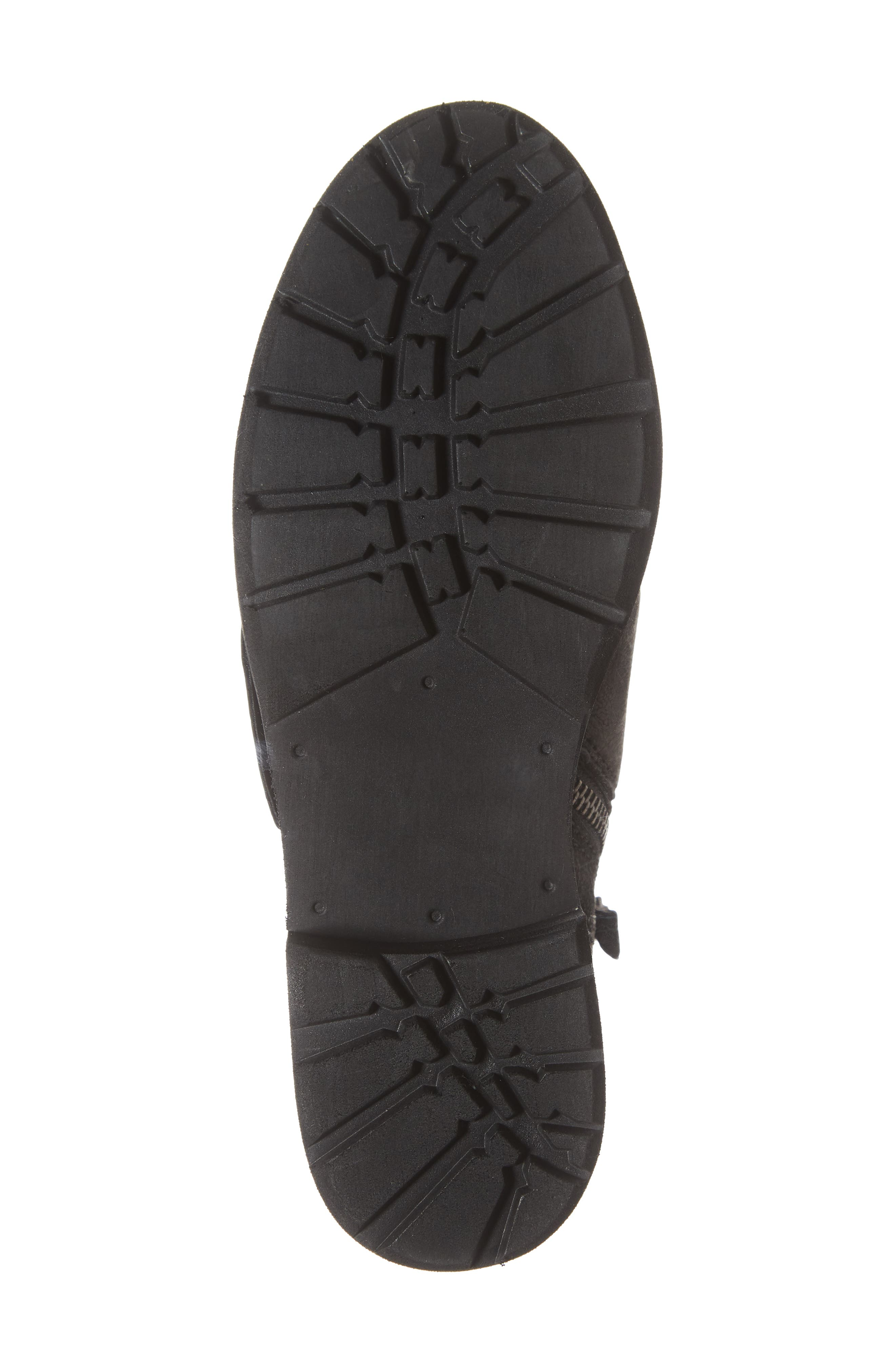 Frontage Bootie,                             Alternate thumbnail 6, color,                             BLACK LEATHER
