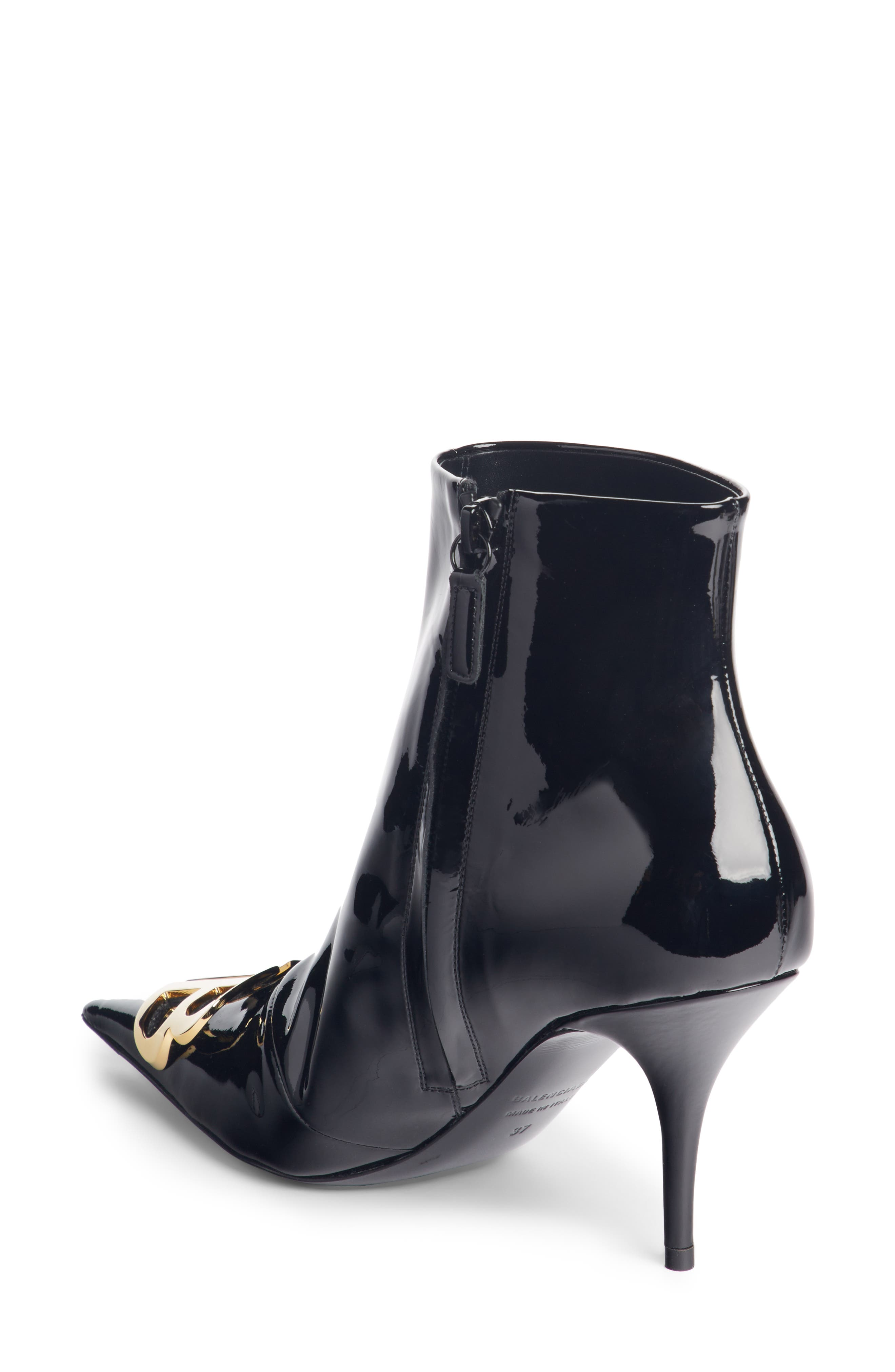 BB Pointy Toe Bootie,                             Alternate thumbnail 2, color,                             BLACK