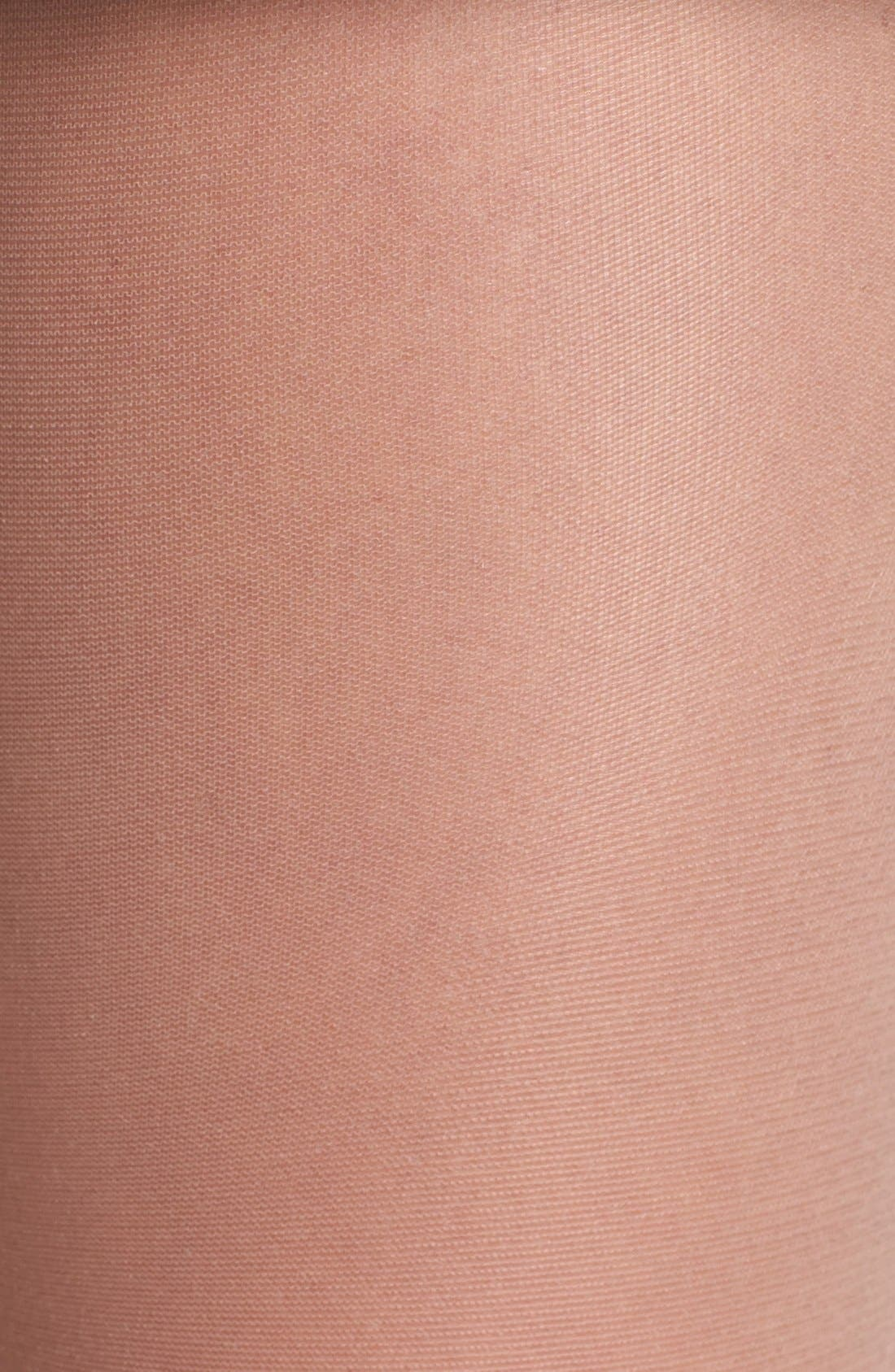 French Cut Sheer Pantyhose,                             Alternate thumbnail 6, color,