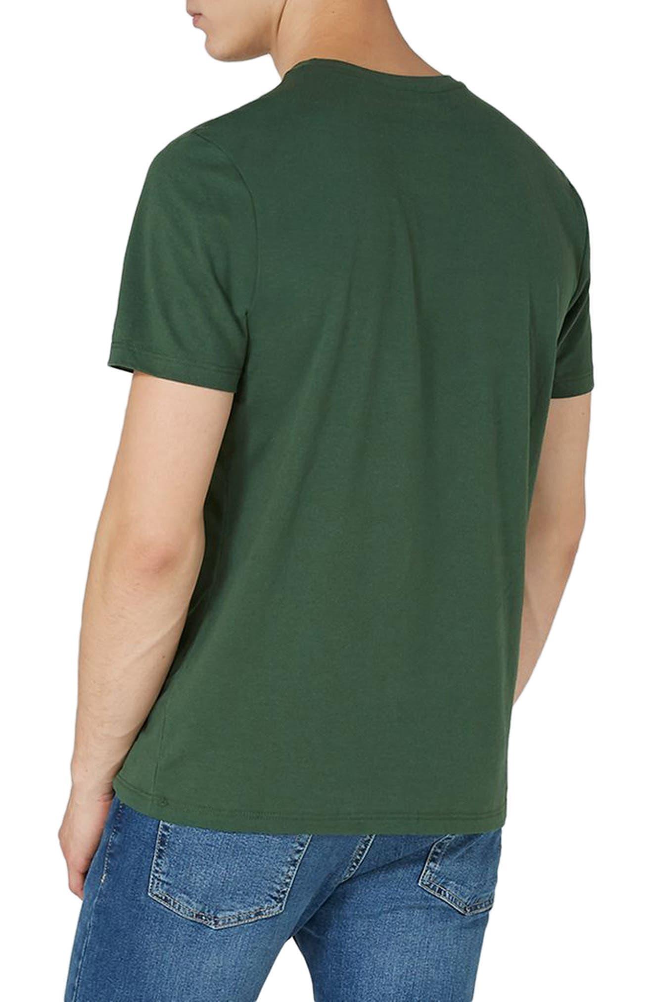 Slim Fit Crewneck T-Shirt,                             Alternate thumbnail 105, color,