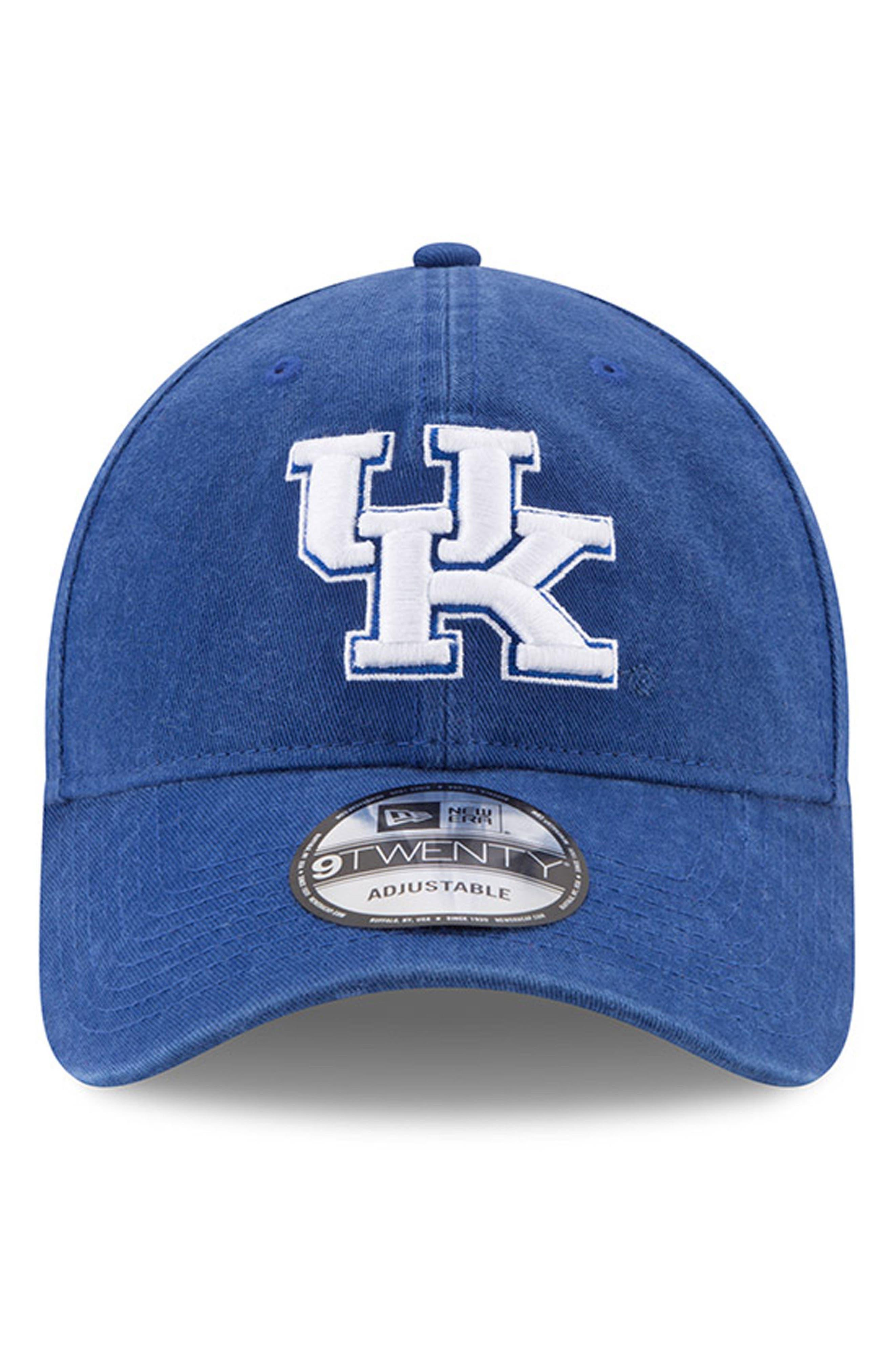 New Era Collegiate Core Classic - Kentucky Wildcats Baseball Cap,                             Alternate thumbnail 2, color,